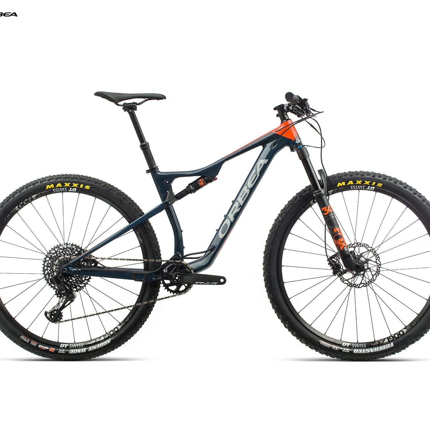ORBEA OIZ 29 H10 - BLAUW INDIGO / ORANJE (GLOSS) @G-Bikes