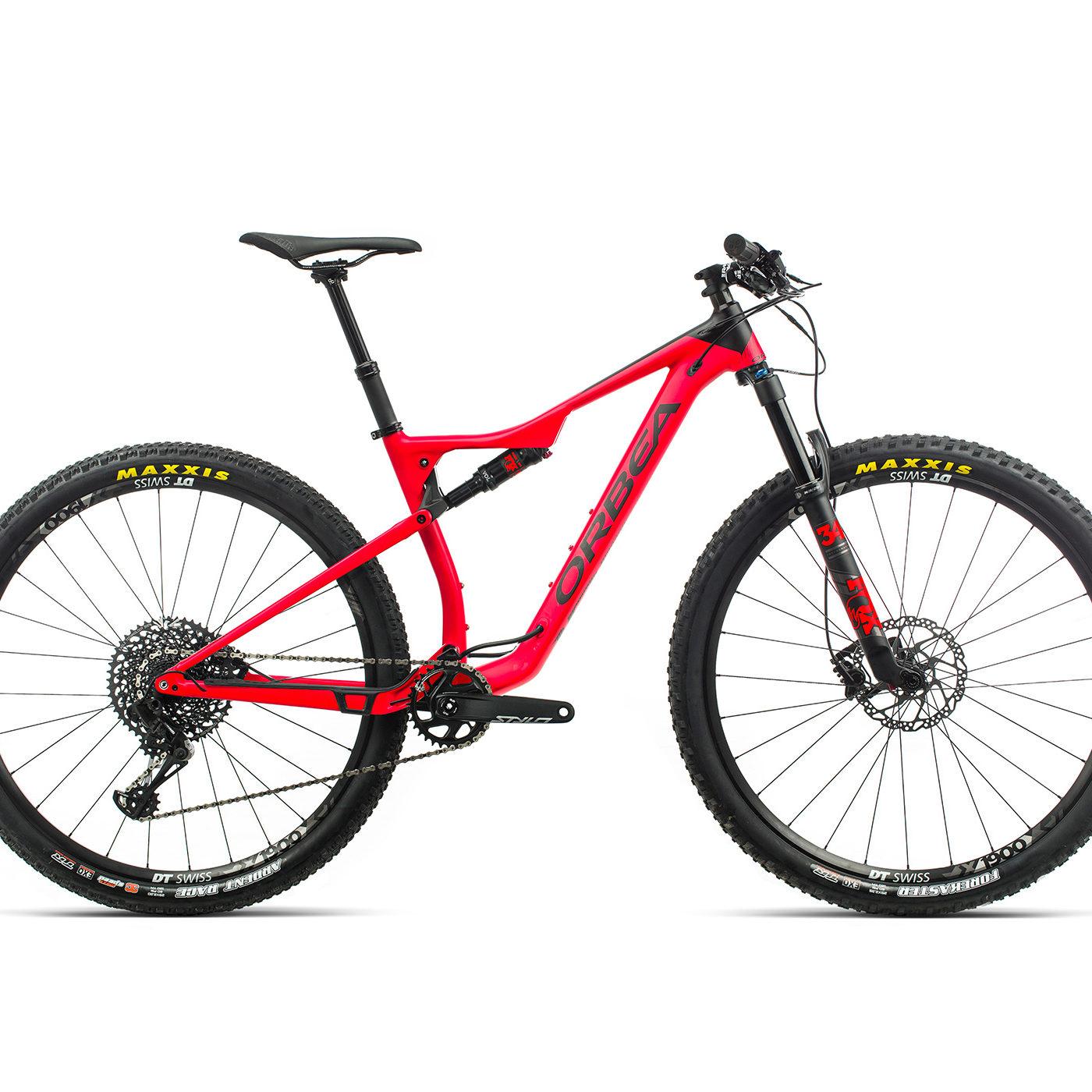 ORBEA OIZ 29 H10 - BRIGHT RED / ZWART (DOF) @G-Bikes