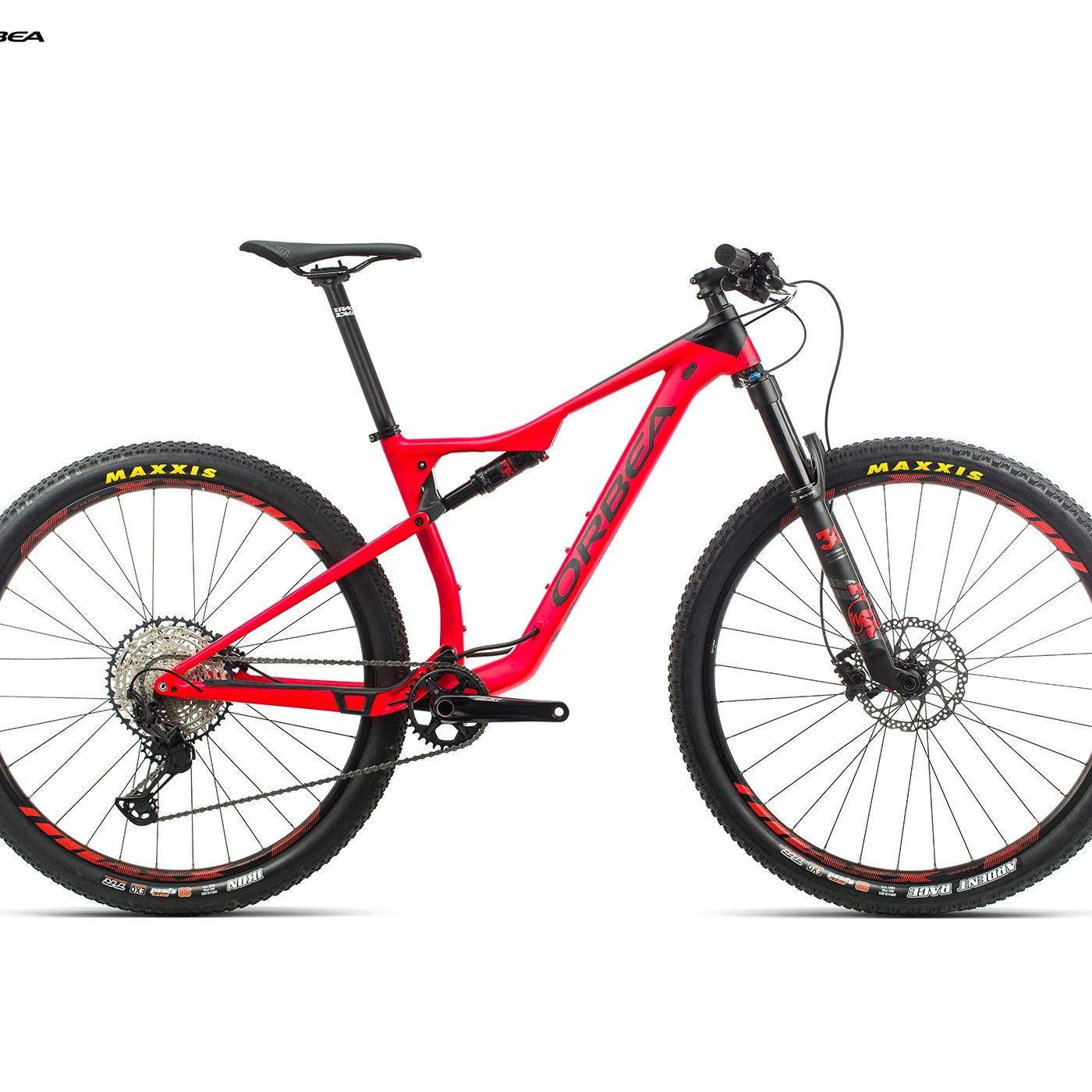 ORBEA OIZ 29 H20 - BRIGHT RED / ZWART (DOF) @G-Bikes