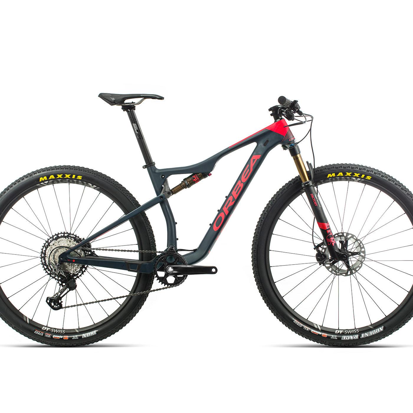 ORBEA OIZ 29 M10 - BLAUW INDIGO/ ZWART (DOF) @G-Bikes