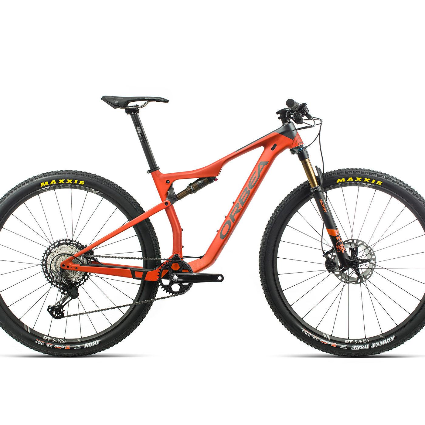 ORBEA OIZ 29 M10 - ORANJE / GRAFIET (GLOSS) @G-Bikes