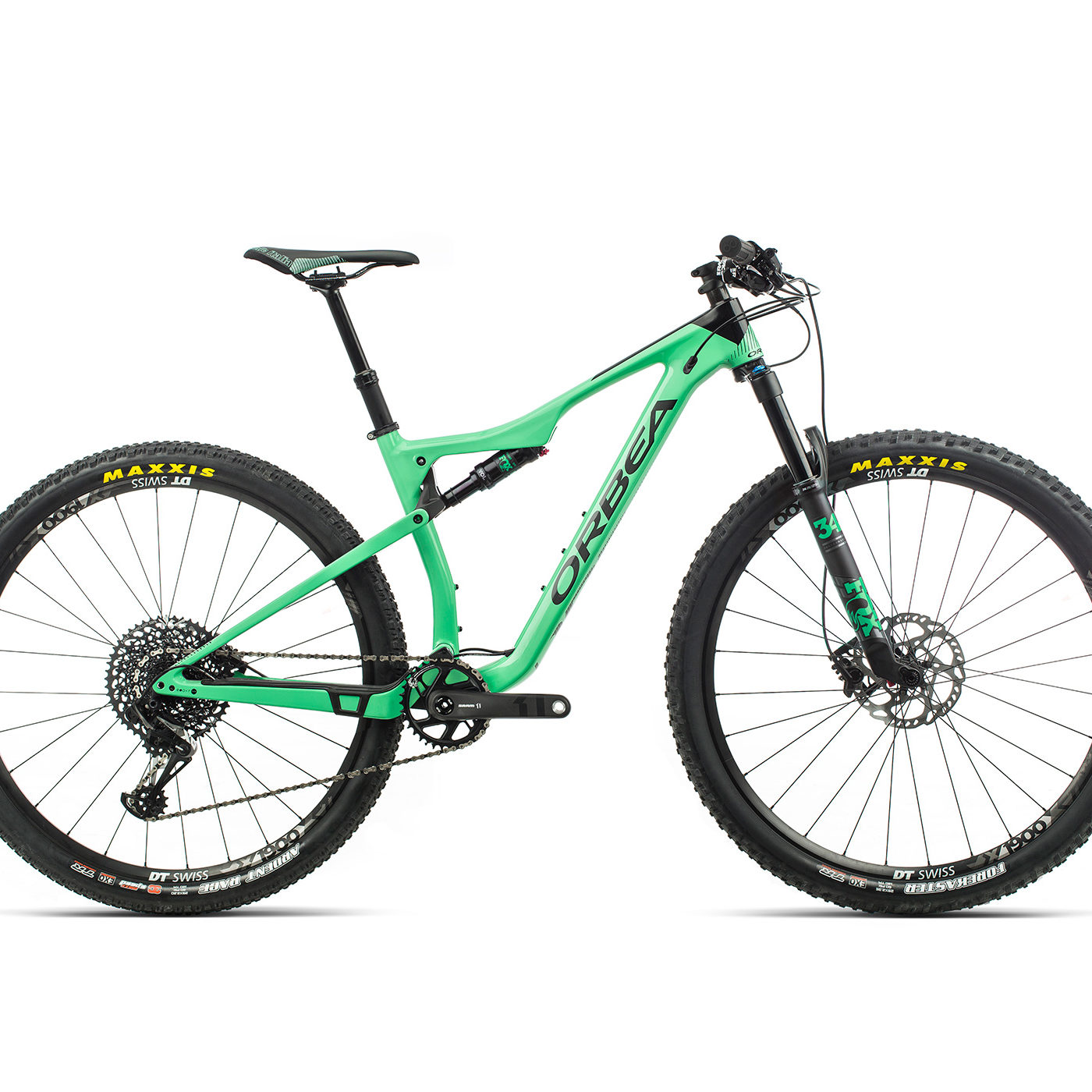 ORBEA OIZ 29 M20TR - MUNT / ZWART (GLOSS) @G-Bikes