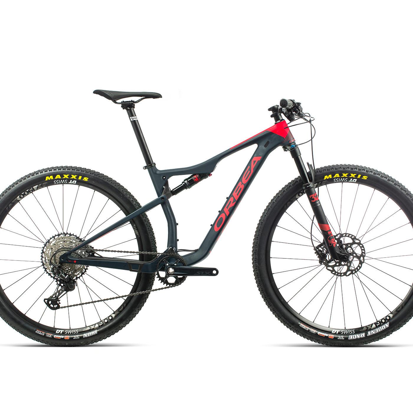 ORBEA OIZ 29 M30 - BLAUW INDIGO / BRIGHT RED (DOF) @G-Bikes