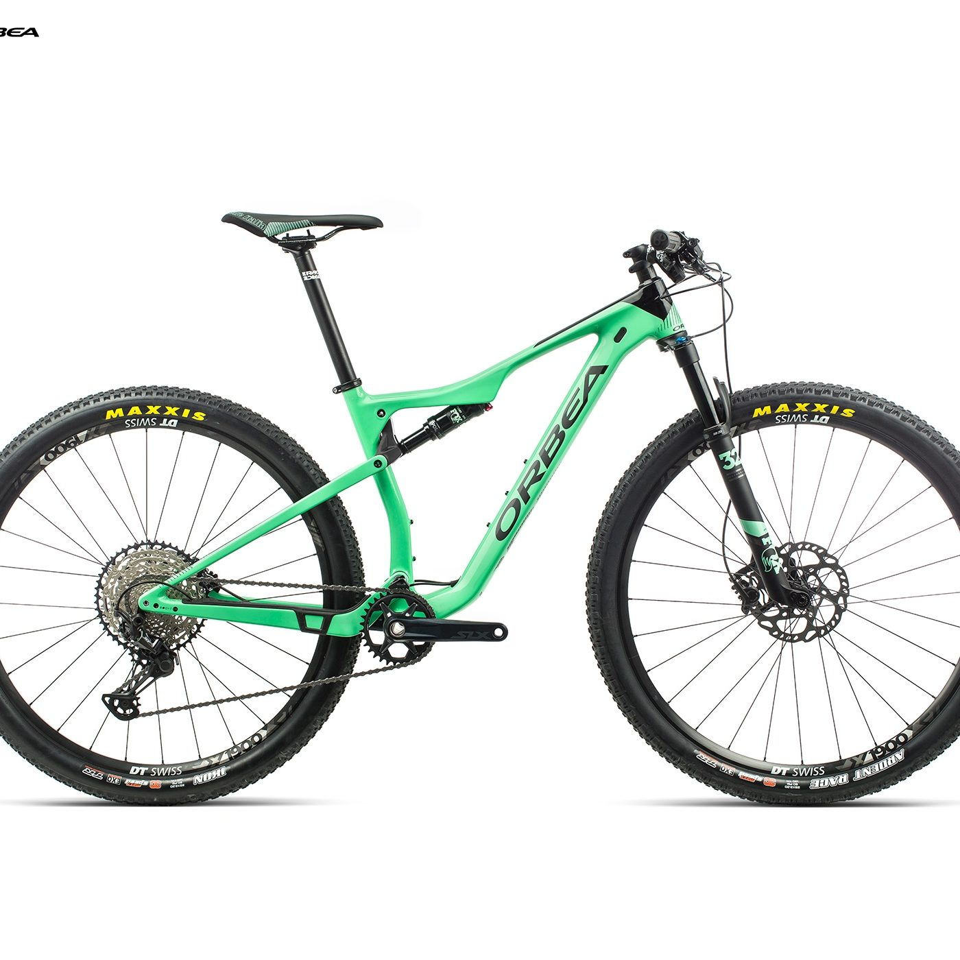 ORBEA OIZ 29 M30 - MUNT / ZWART (GLOSS) @G-Bikes