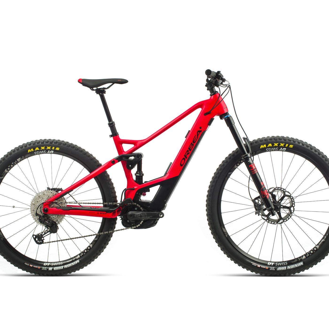 ORBEA WILD FS H10 eBike - BRIGHTRED /ZWART (DOF) @G-Bikes