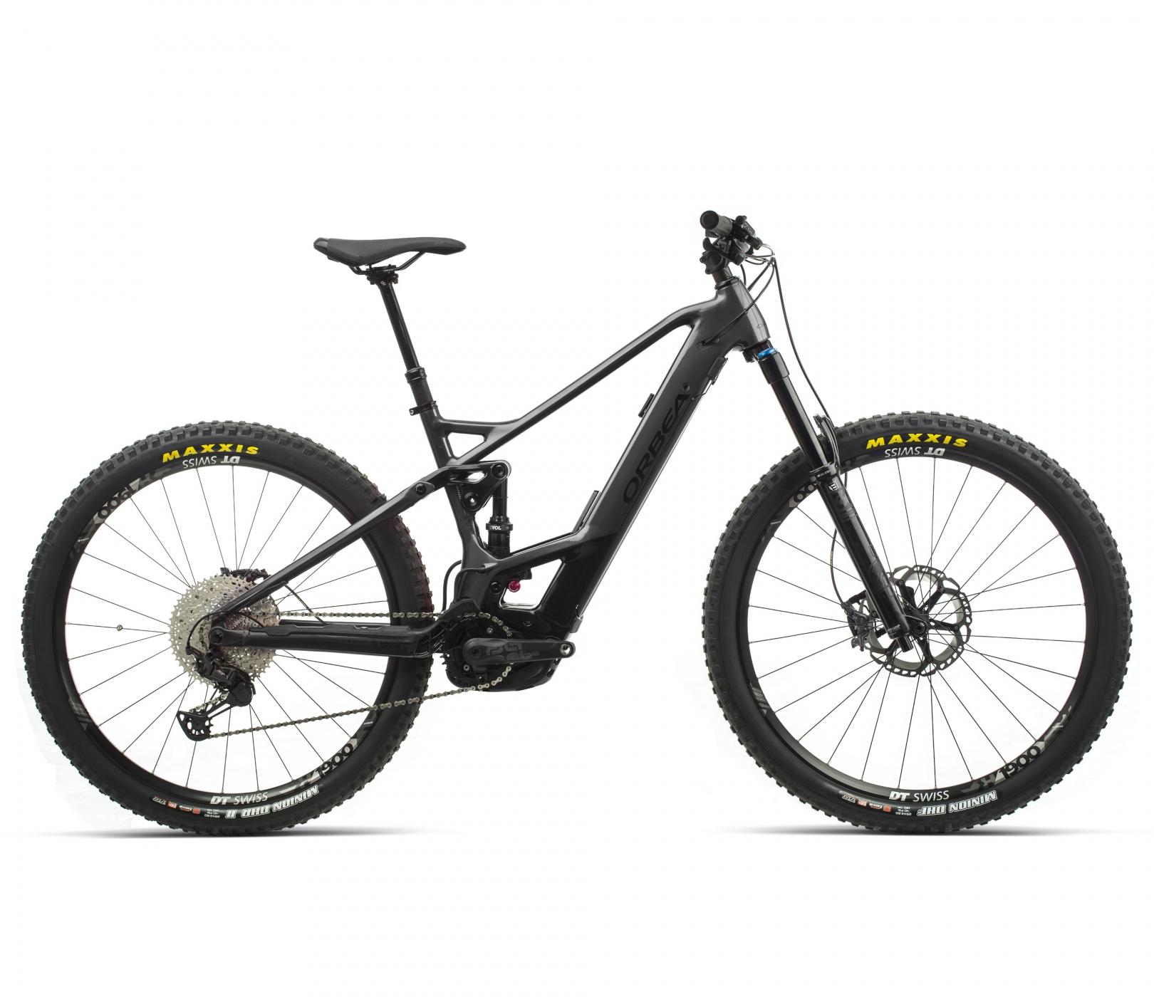 ORBEA WILD FS H10 eBike - GRAFIET / ZWART (GLOSS) @G-Bikes