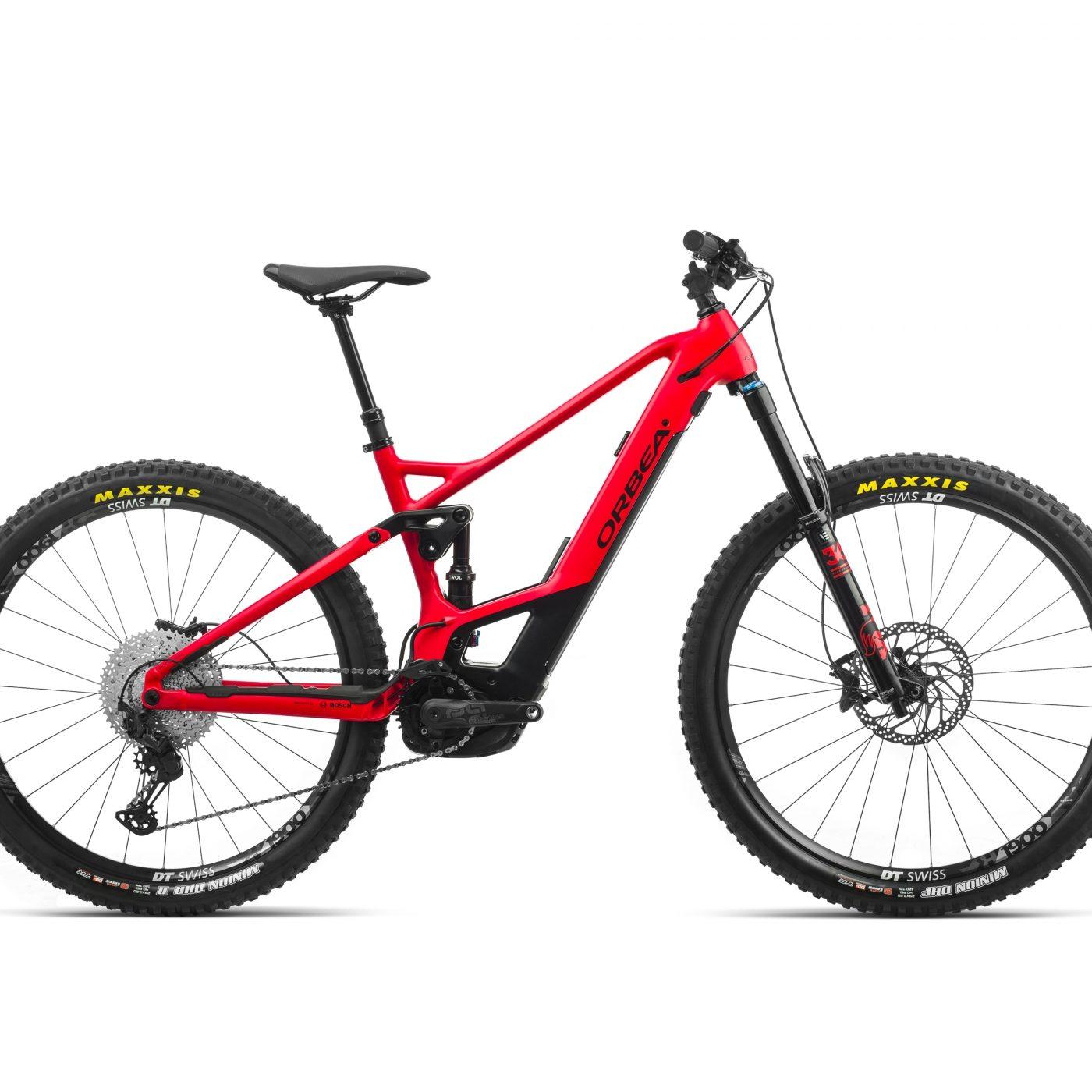 ORBEA WILD FS H15 eBike - BRIGHTRED / ZWART (DOF) @G-Bikes