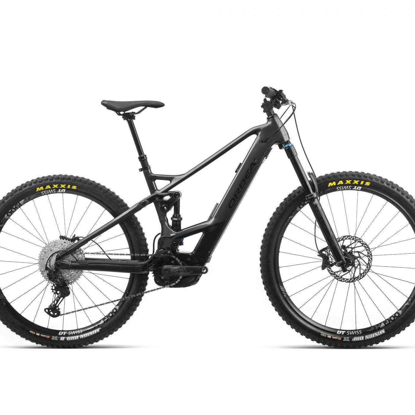 ORBEA WILD FS H15 eBike - GRAFIET / ZWART (GLOSS) @G-Bikes