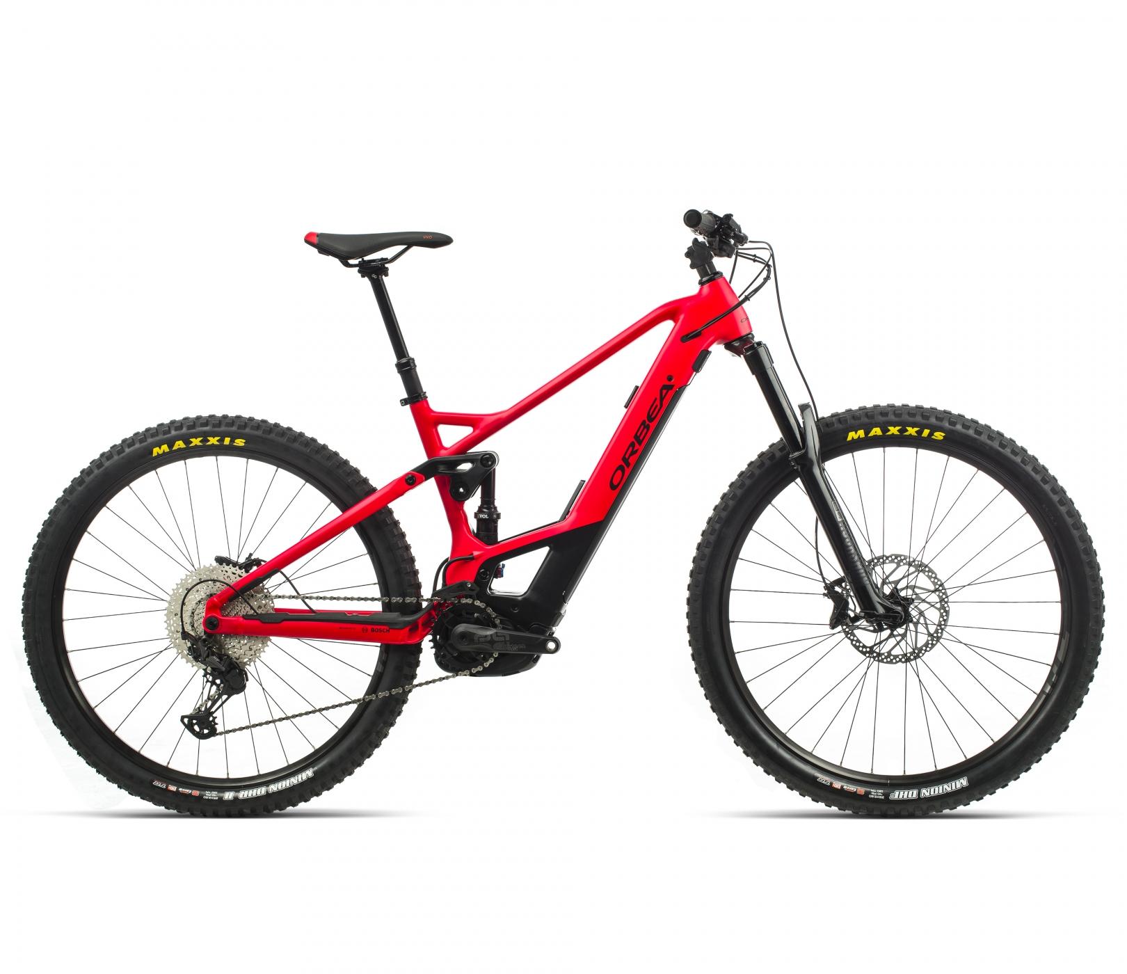 ORBEA WILD FS H20 eBike - BRIGHTRED /ZWART (DOF) @G-Bikes