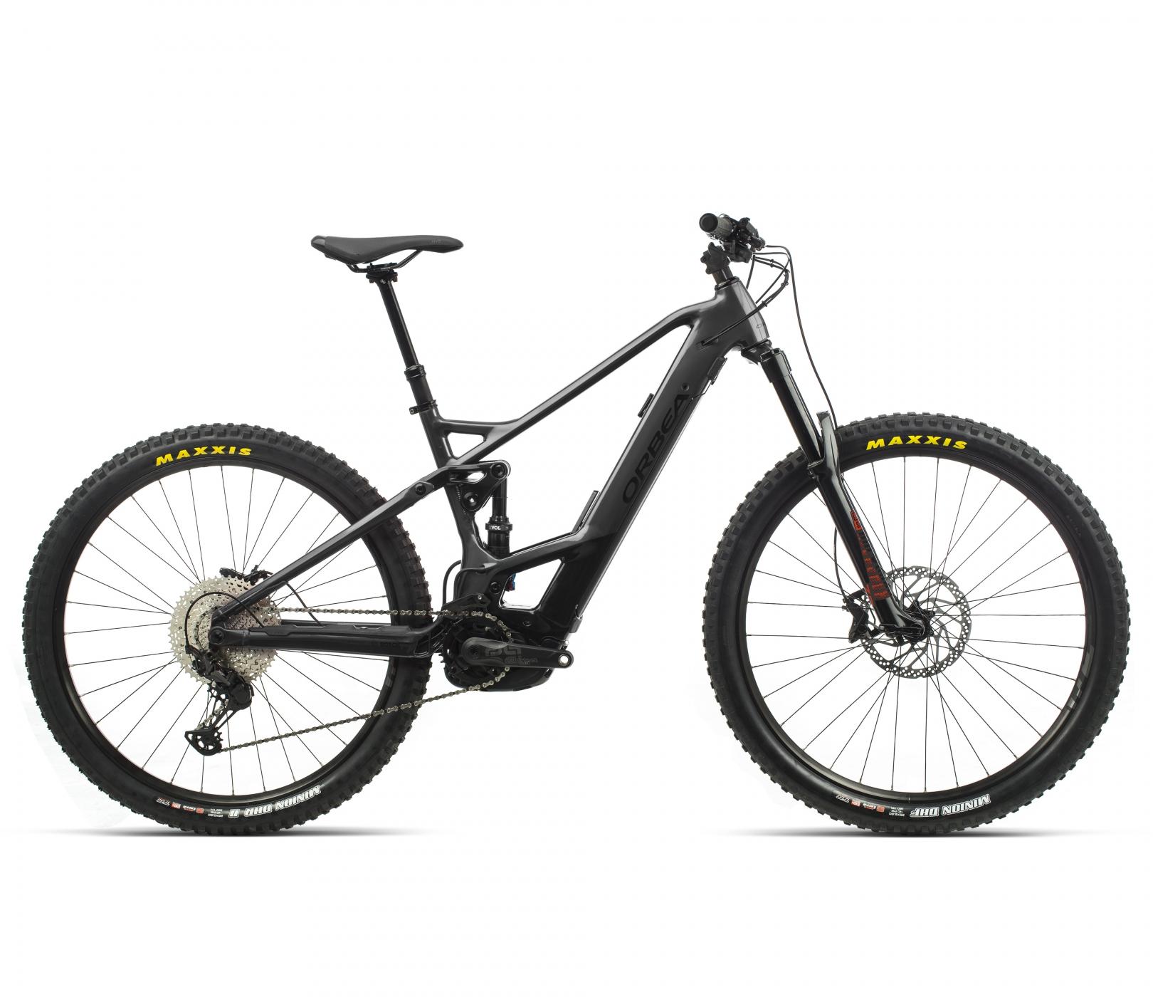 ORBEA WILD FS H25 eBike - GRAFIET / ZWART (GLOSS) @G-Bikes