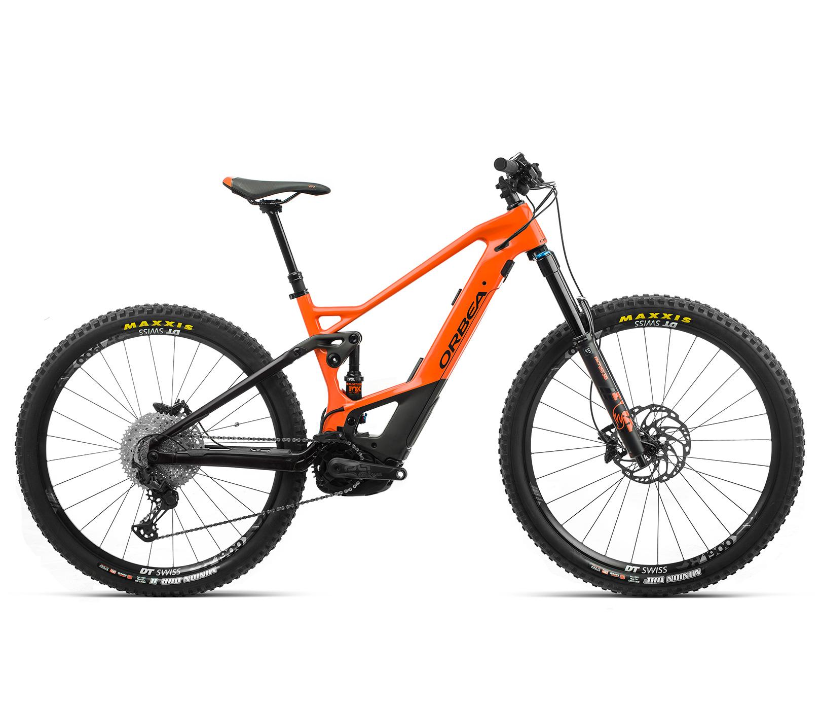 ORBEA WILD FS M20 ebike - ORANJE (GLOSS) / ZWART (DOF) @G-Bikes