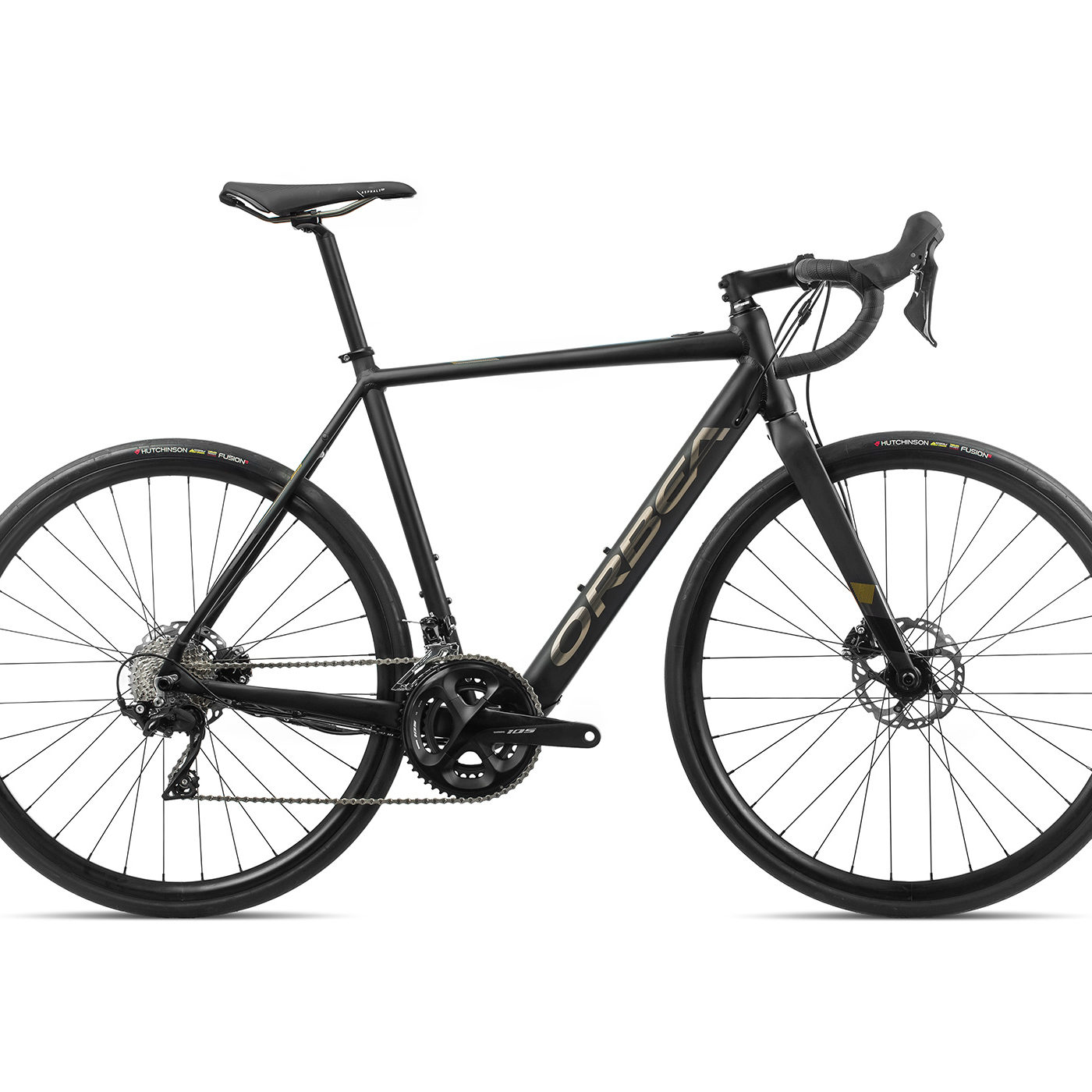ORBEA GAIN ROAD D30 - ZWART (DOF/GLOSS)