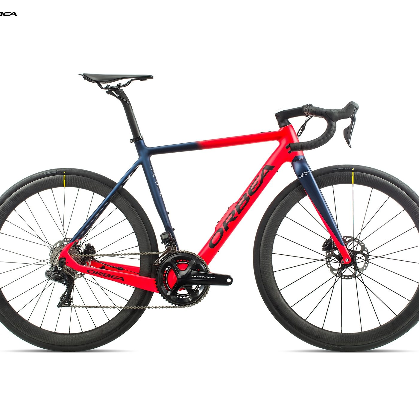 ORBEA GAIN M10i BRIGHT RED / MARINE BLAUW MET (DOF)