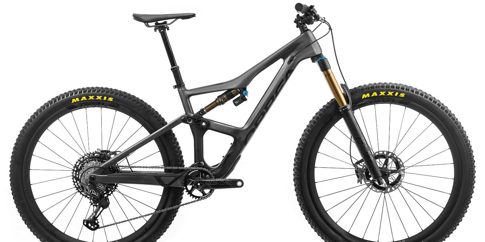 ORBEA Occam M-LTD - ANTRACIET GLITTER (GLOSS) / ZWART (DOF) @G-Bikes