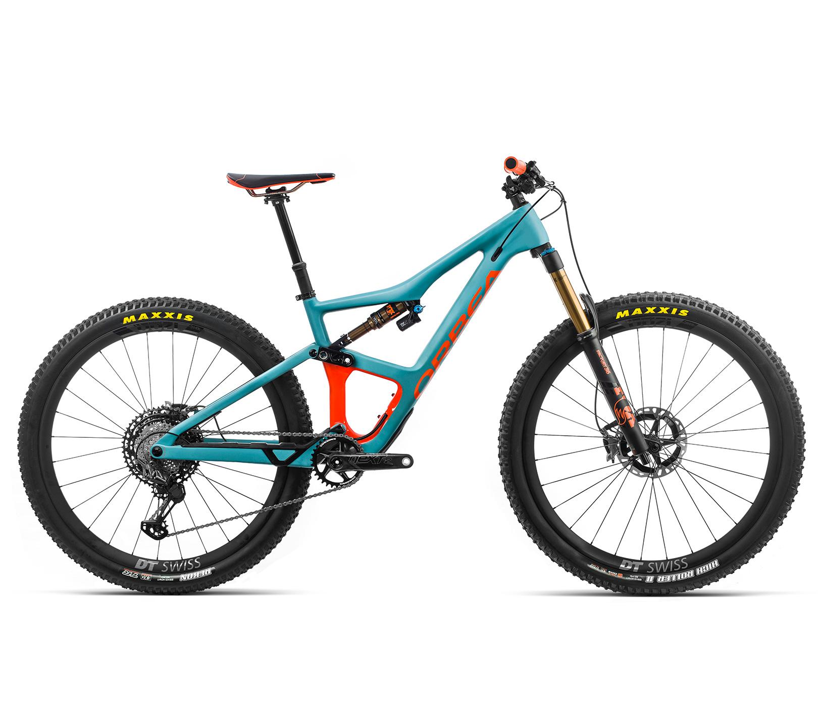 ORBEA Occam M-LTD - BLAUW (DOF) / ORANJE (GLOSS) @G-Bikes