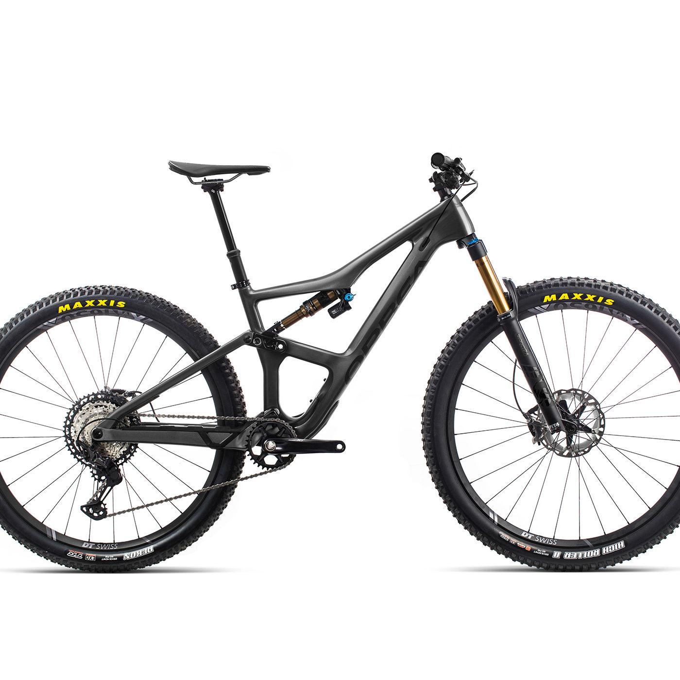 ORBEA Occam M10 - ANTRACIET GLITTER (GLOSS) / ZWART (DOF) @G-Bikes