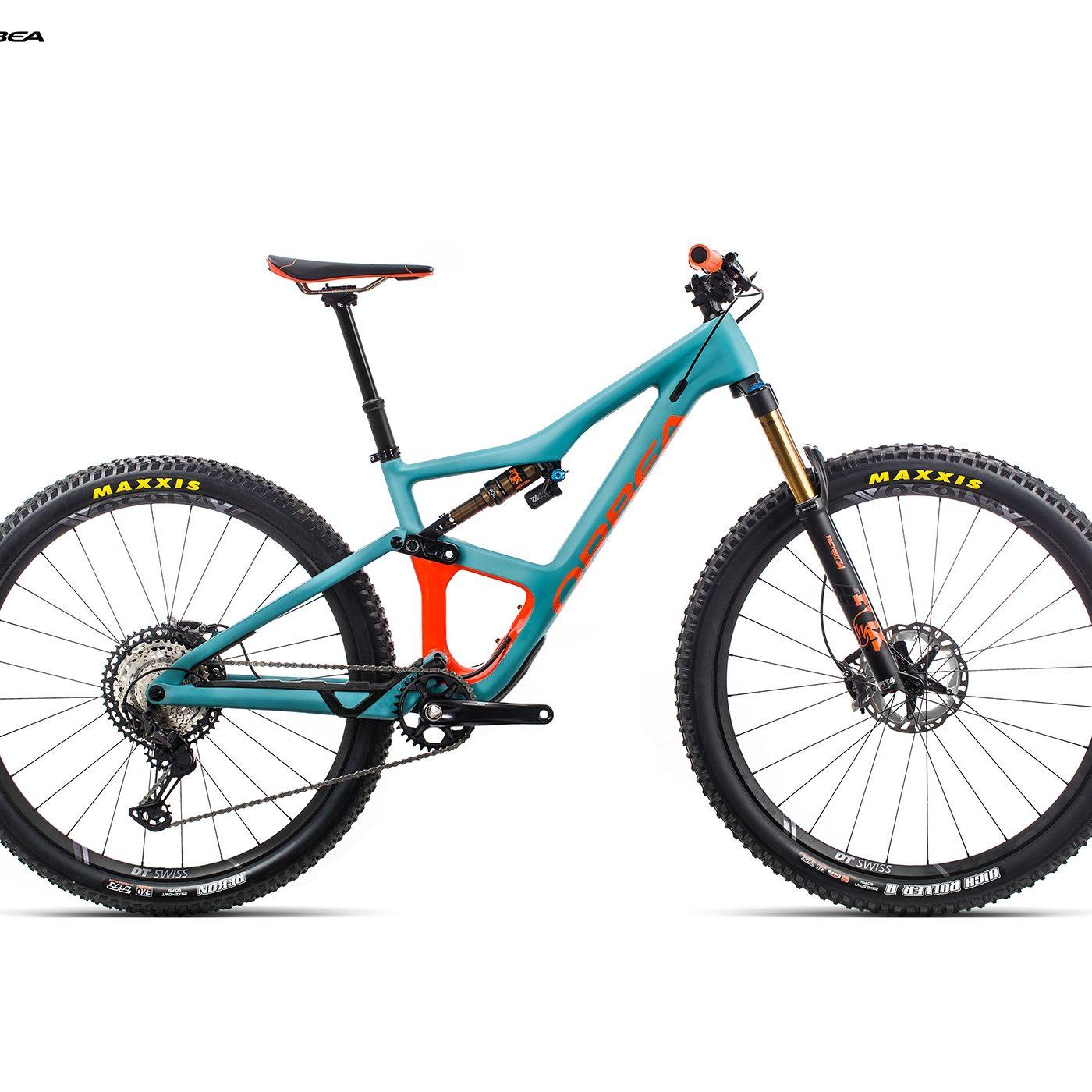 ORBEA Occam M10 - BLAUW (DOF) / ORANJE (GLOSS) @G-Bikes