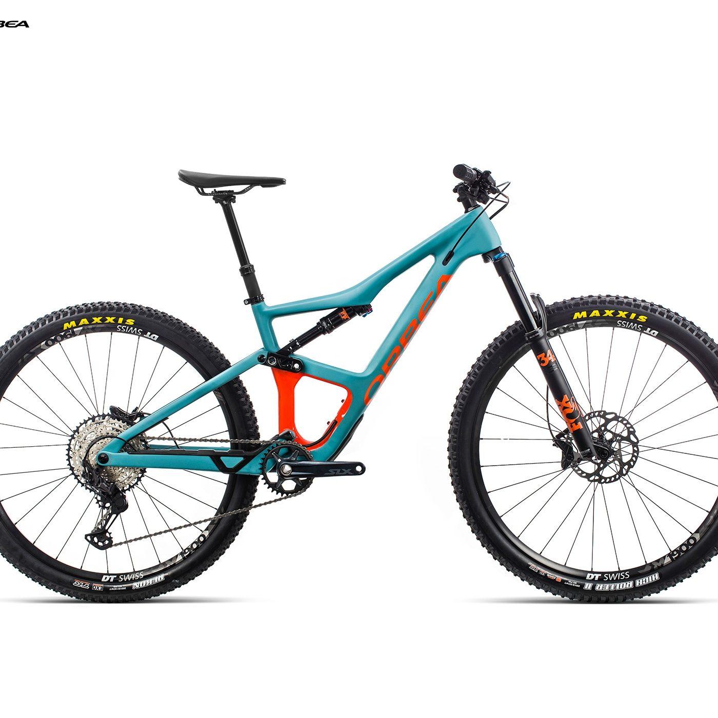 ORBEA Occam M30 - BLAUW (DOF) / ORANJE (GLOSS) @G-Bikes