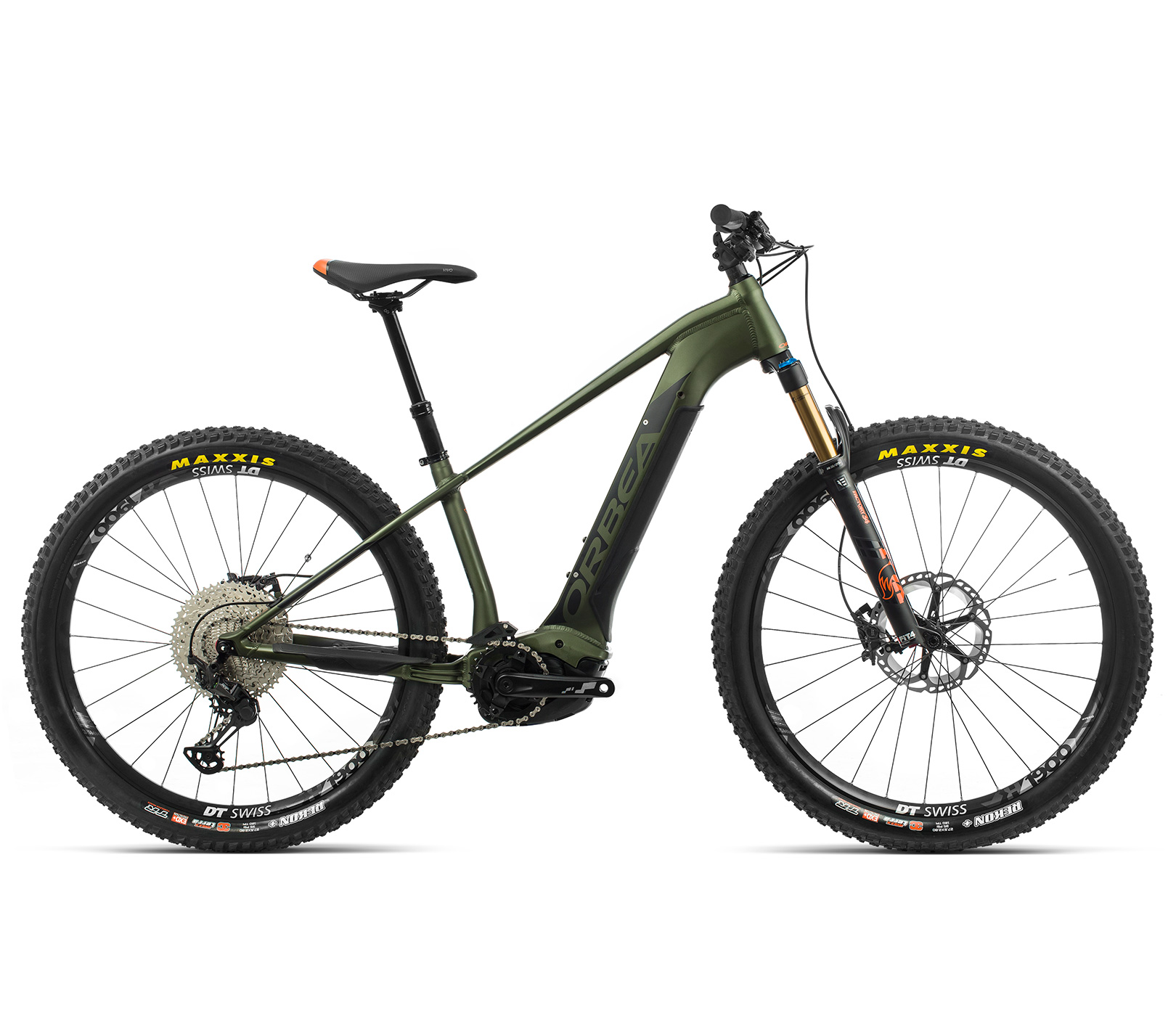 ORBEA WILD HT10 27 ebike - GROEN / ZWART (DOF) @G-Bikes
