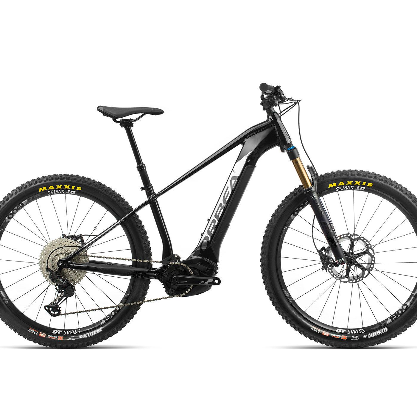 ORBEA WILD HT10 27 ebike - METALLIC ZWART / TITANIUM (GLOSS) @G-Bikes