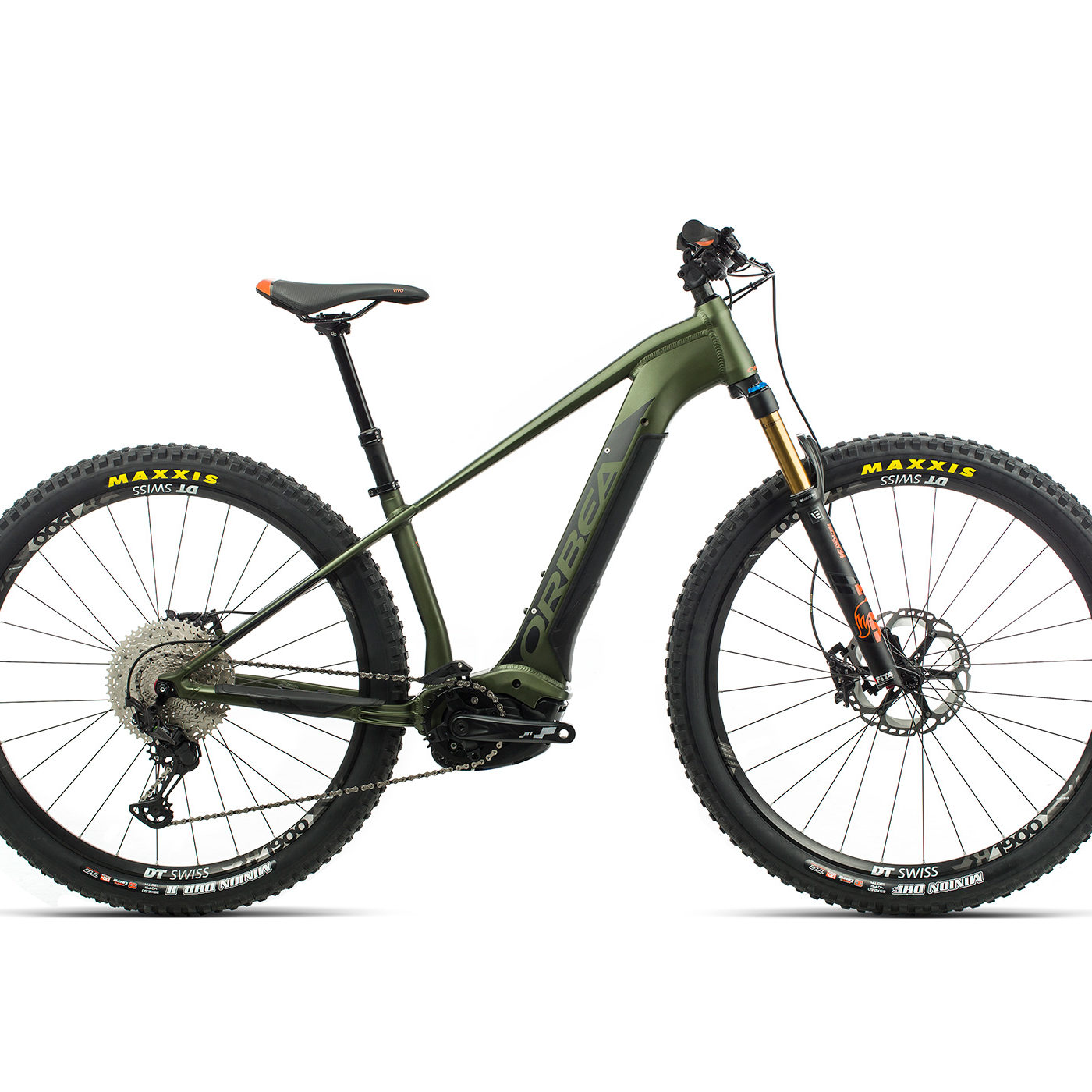 ORBEA WILD HT10 29 ebike - GROEN / ZWART (DOF) @G-Bikes
