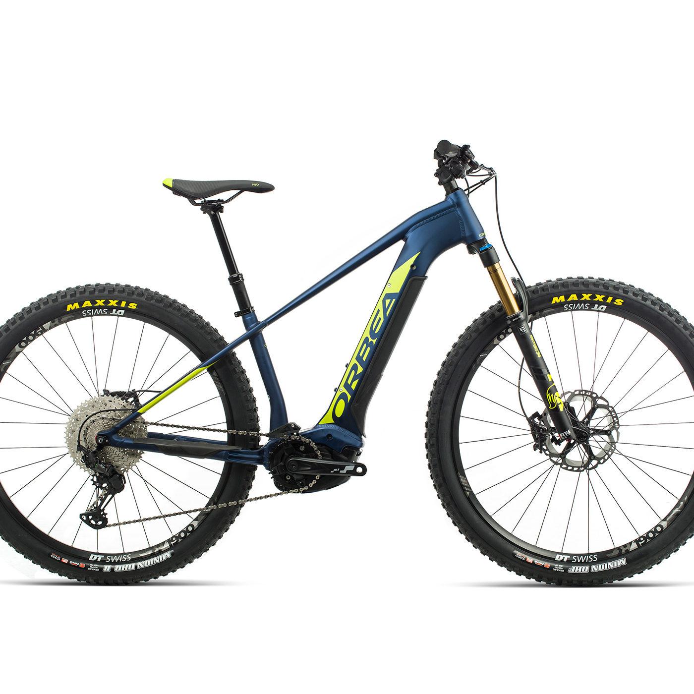 ORBEA WILD HT10 29 ebike - MARINE BLAUW MET / PISTACHE (DOF) @G-Bikes