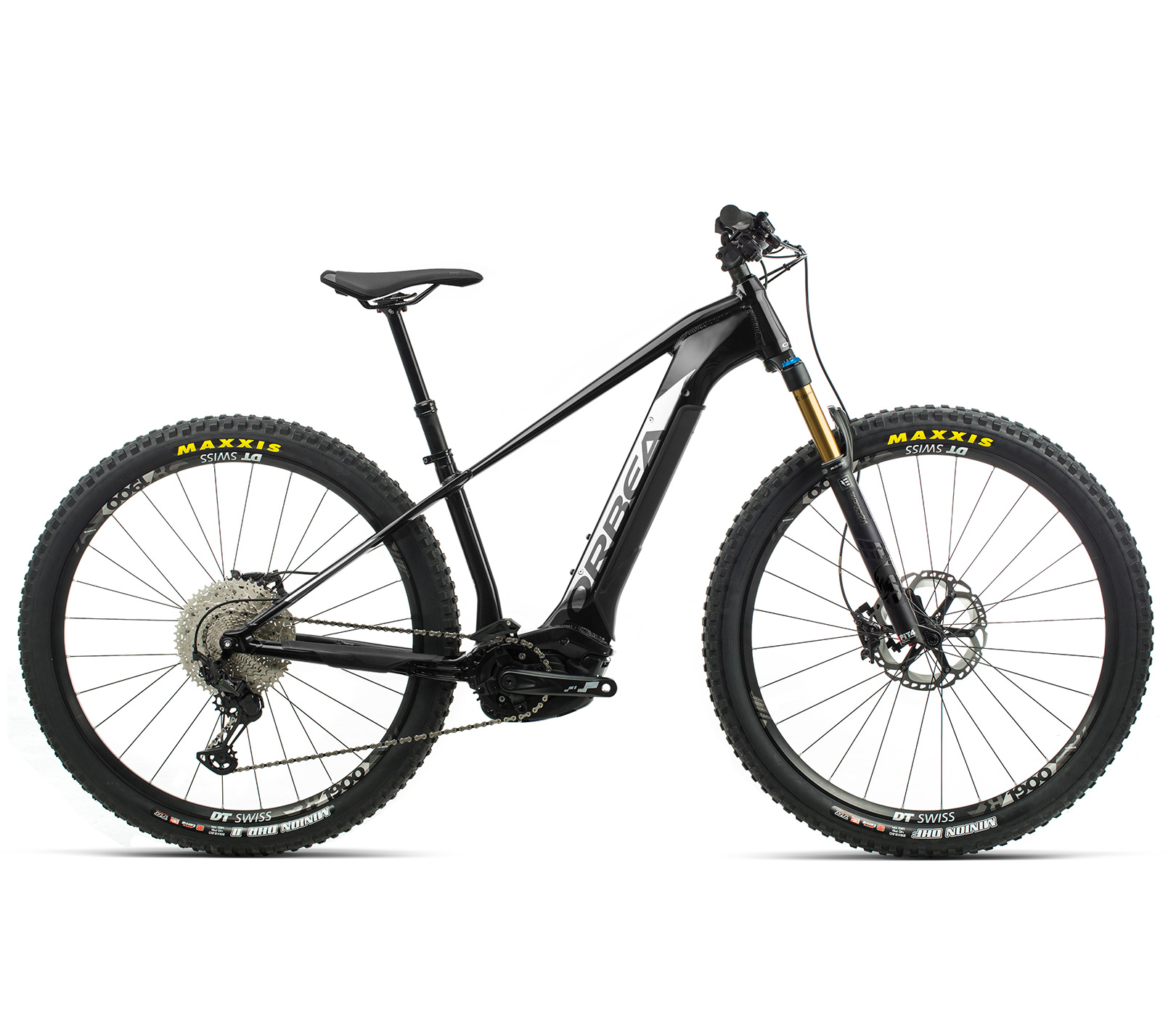 ORBEA WILD HT10 29 ebike - METALLIC ZWART / TITANIUM(GLOSS) @G-Bikes