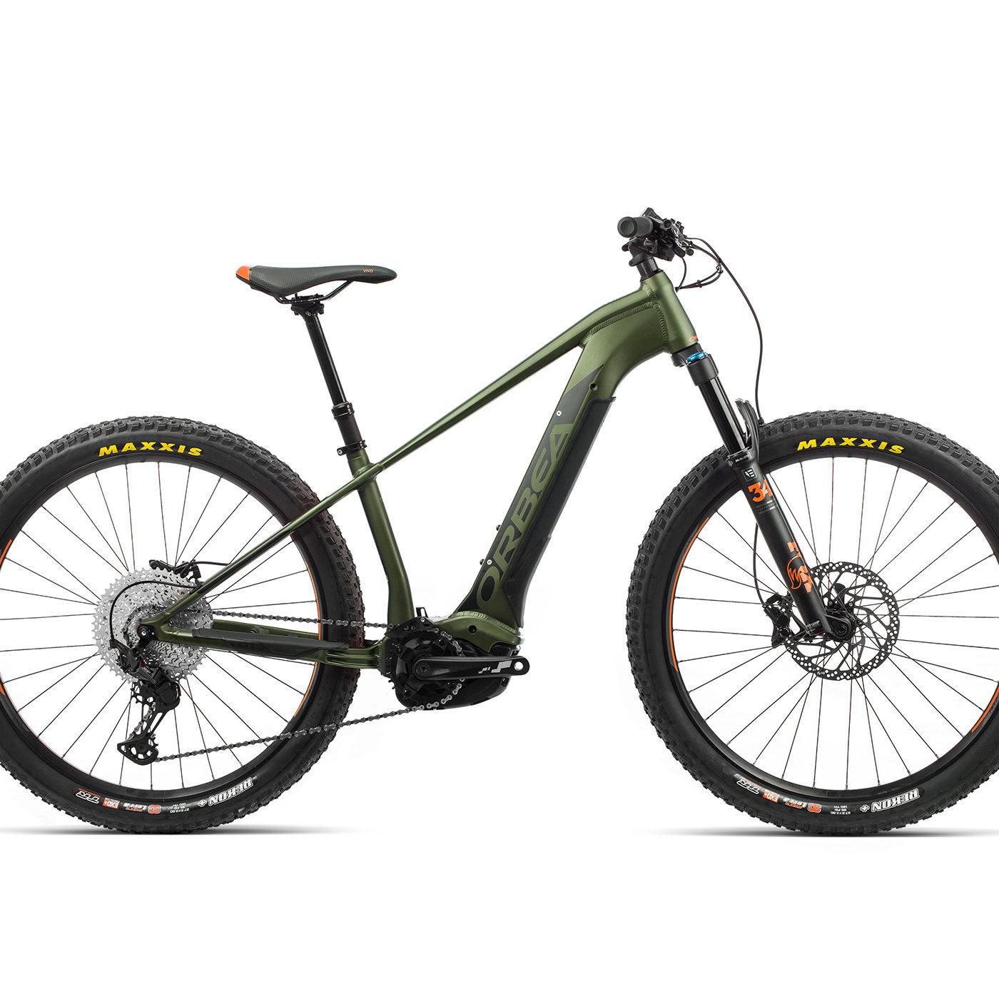 ORBEA WILD HT20 27 ebike - GROEN / ZWART (DOF) @G-Bikes