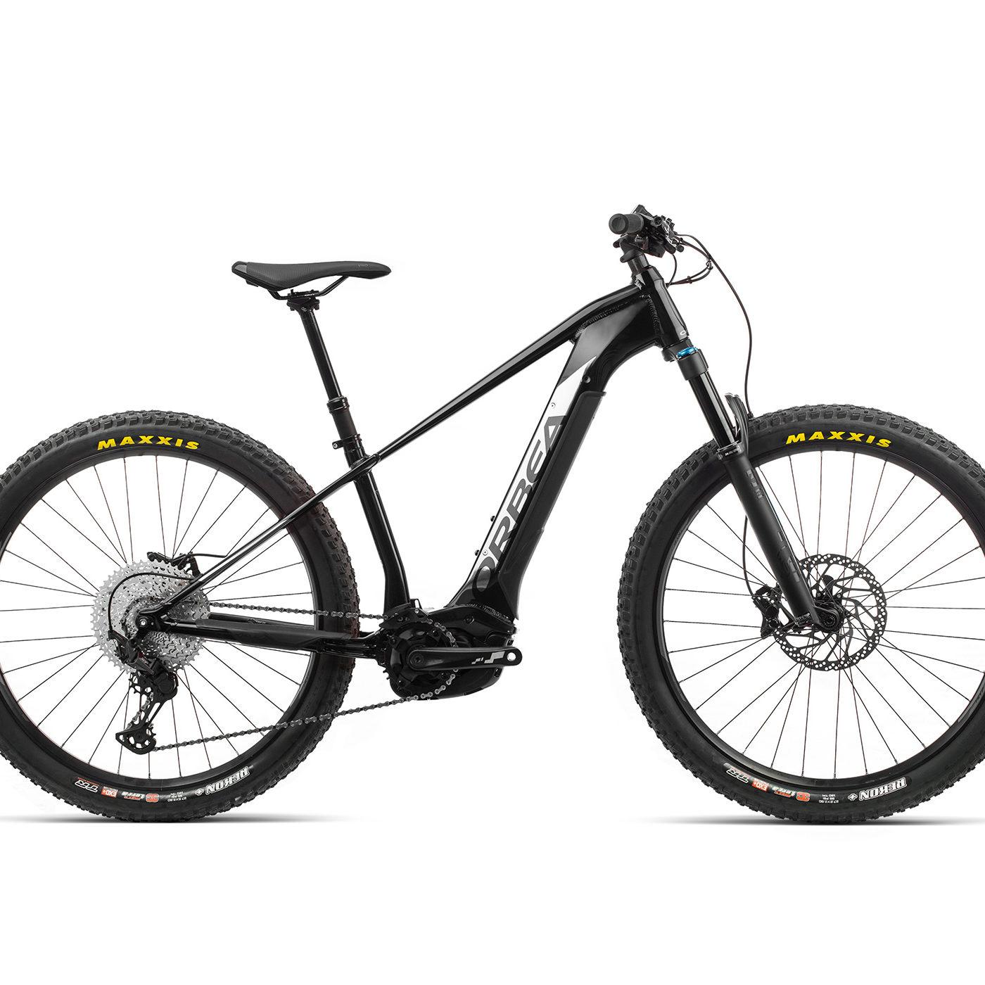 ORBEA WILD HT20 27 ebike - METALLIC ZWART / TITANIUM(GLOSS) @G-Bikes