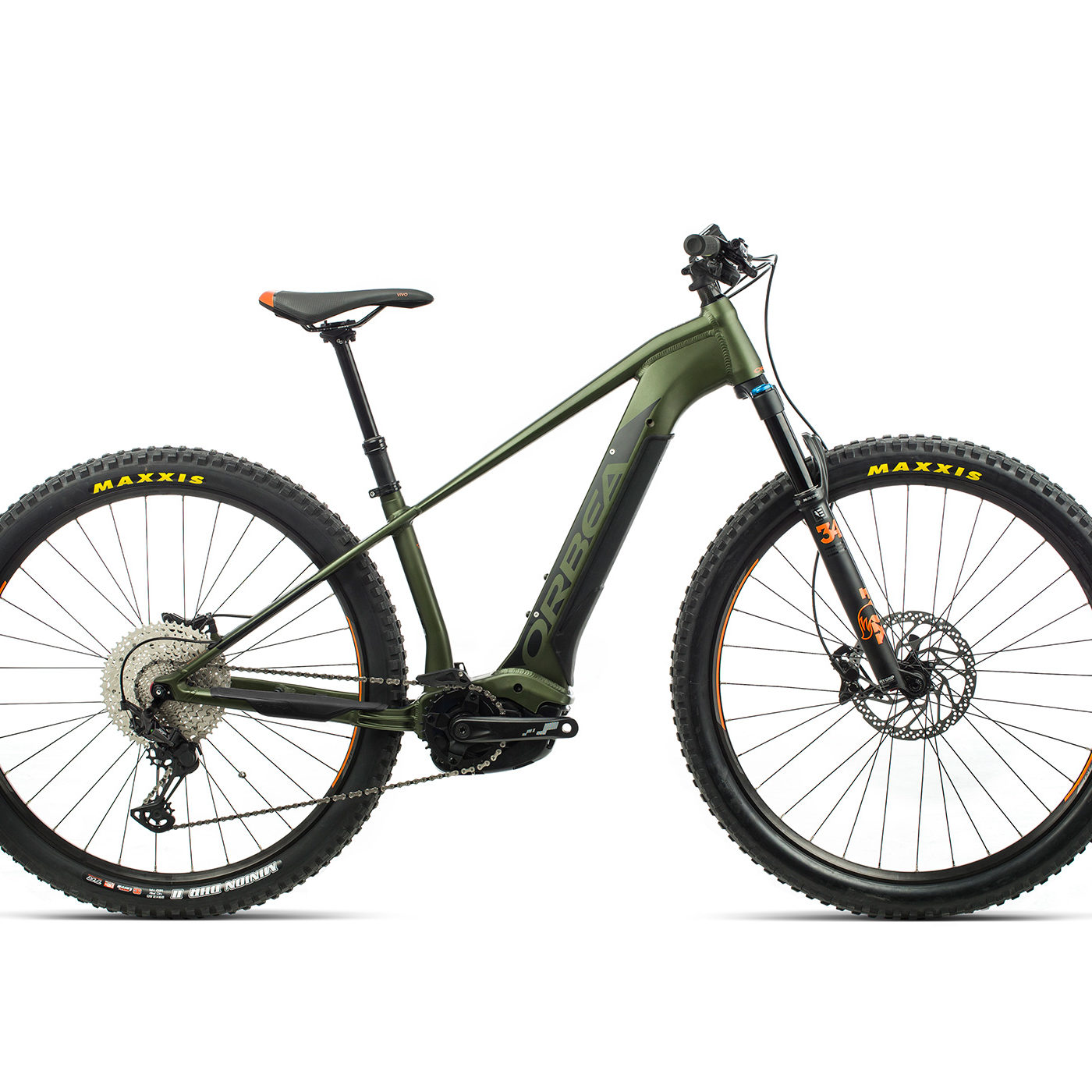 ORBEA WILD HT20 29 ebike - GROEN / ZWART (DOF) @G-Bikes