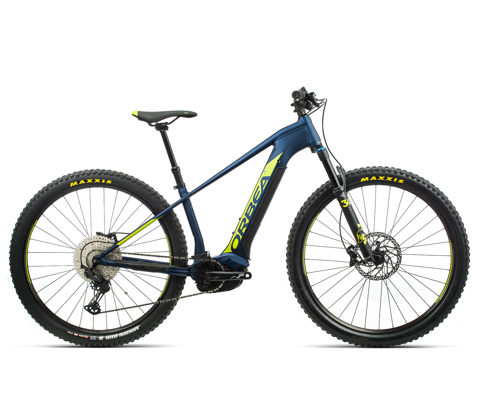 ORBEA WILD HT20 29 ebike - MARINE BLAUW MET / PISTACHE (DOF) @G-Bikes