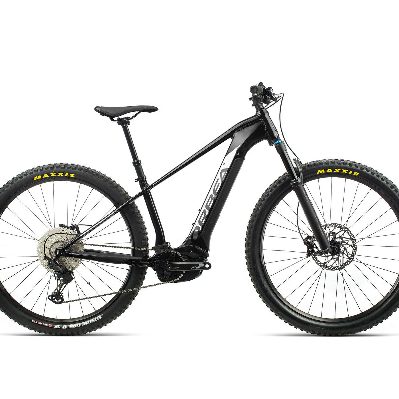 ORBEA WILD HT20 29 ebike - METALLIC ZWART / TITANIUM(GLOSS) @G-Bikes