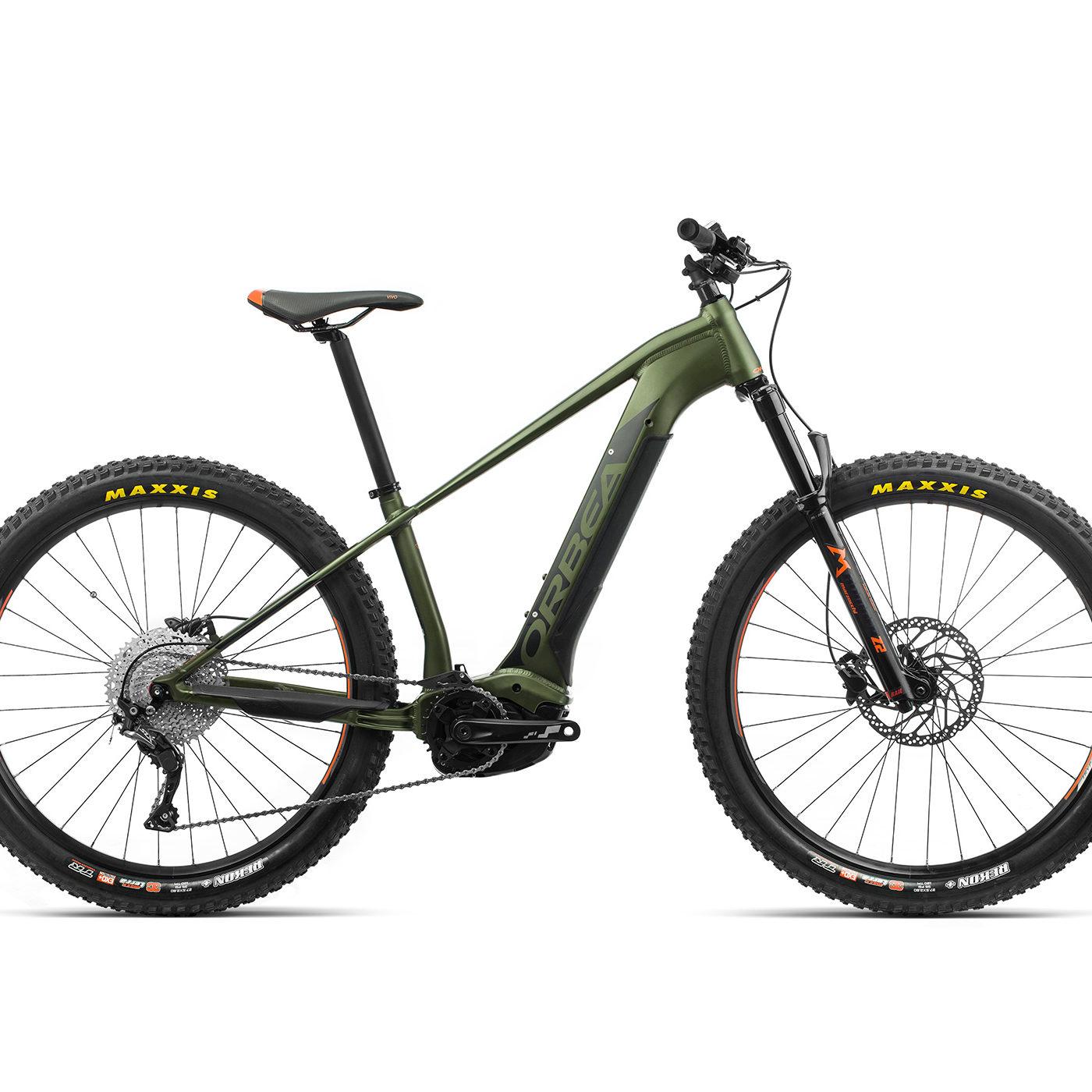 ORBEA WILD HT30 27 ebike - GROEN / ZWART (DOF) @G-Bikes