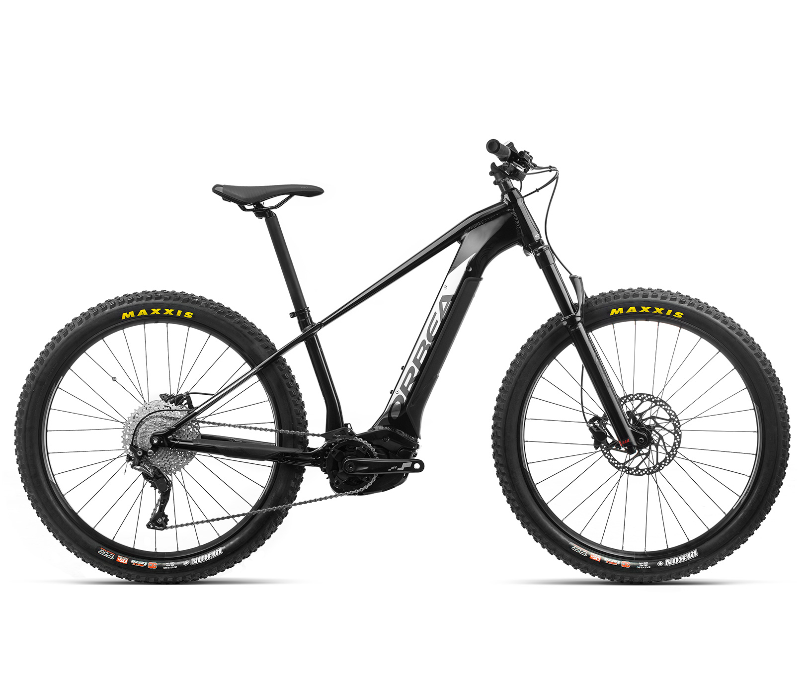 ORBEA WILD HT30 27 ebike - METALLIC ZWART / TITANIUM(GLOSS) @G-Bikes
