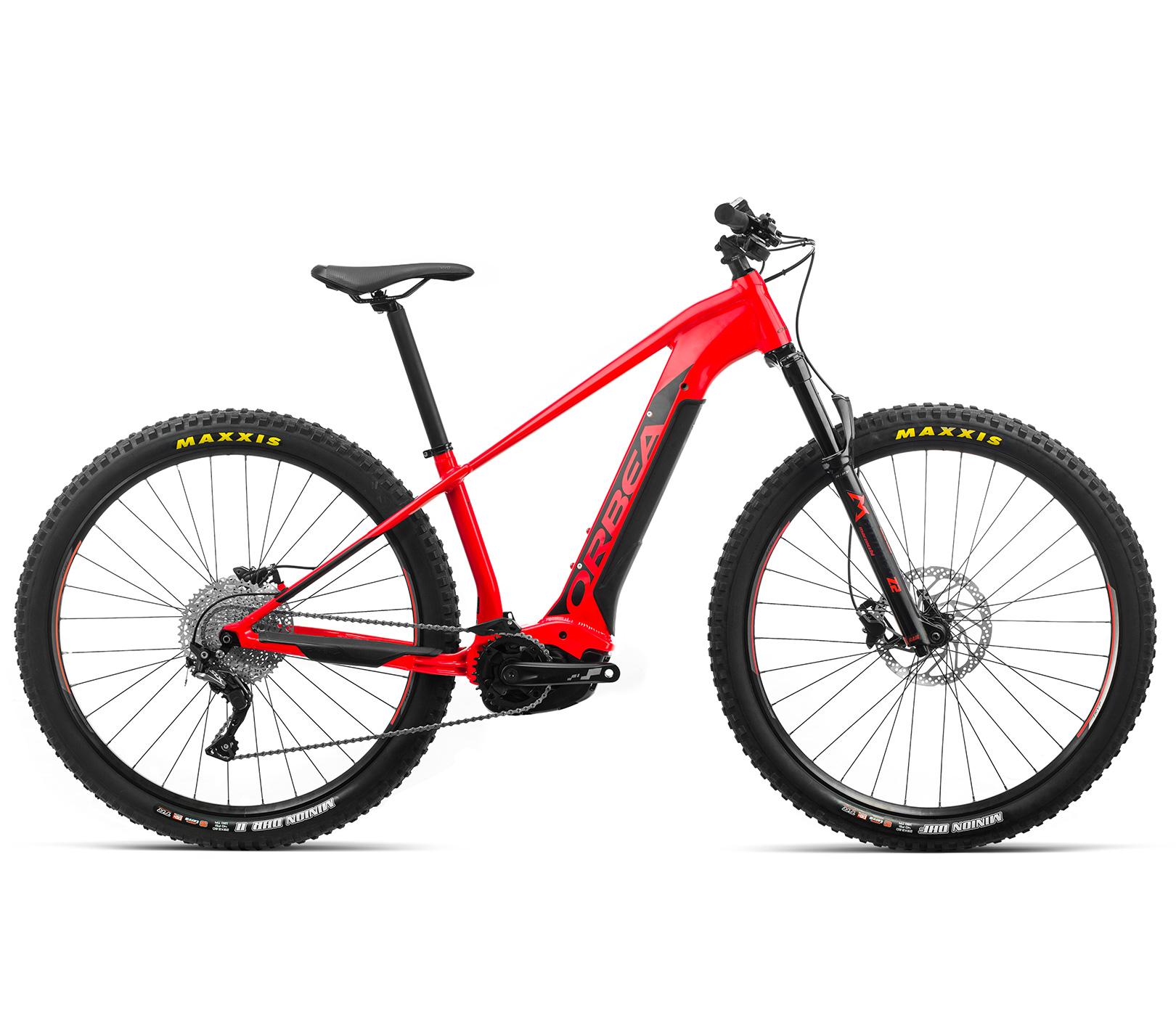 ORBEA WILD HT30 29 ebike - BRIGHT RED (GLOSS) / ZWART (DOF) @G-Bikes