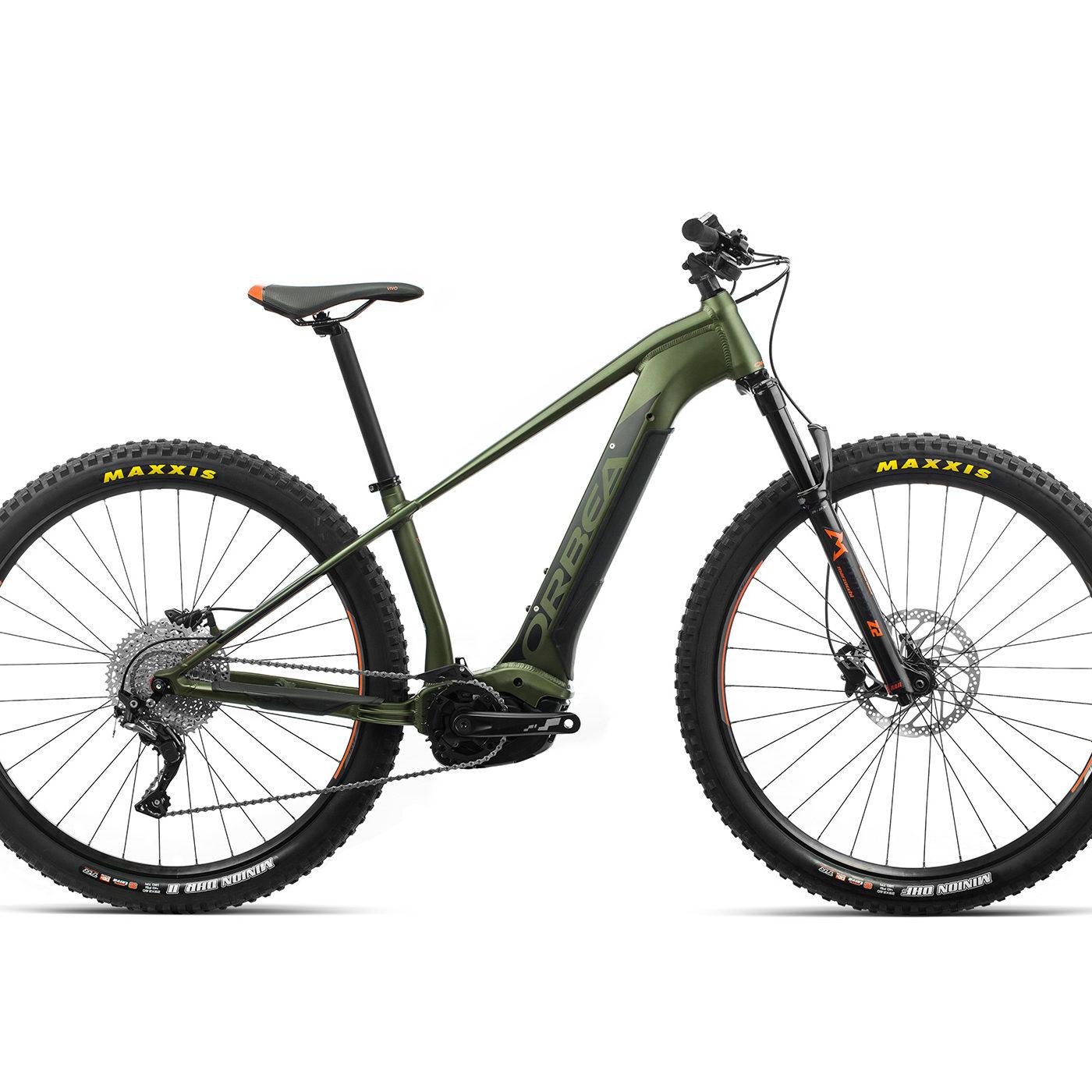 ORBEA WILD HT30 29 ebike - GROEN / ZWART (DOF) @G-Bikes