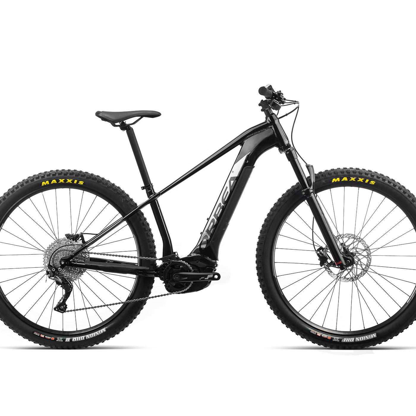 ORBEA WILD HT30 29 ebike - METALLIC ZWART / TITANIUM (GLOSS) @G-Bikes