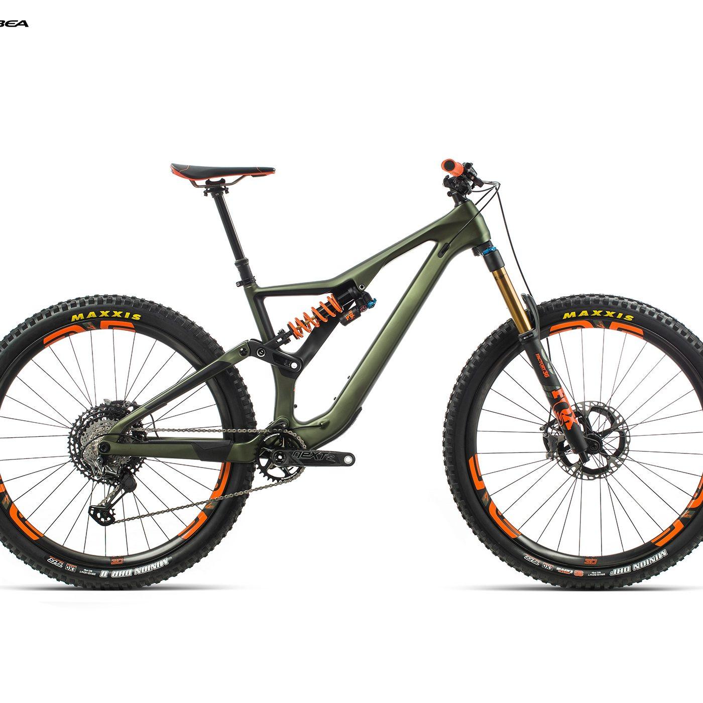 ORBEA RALLON M-LTD - GROEN (DOF) / ORANJE (GLOSS) @G-Bikes