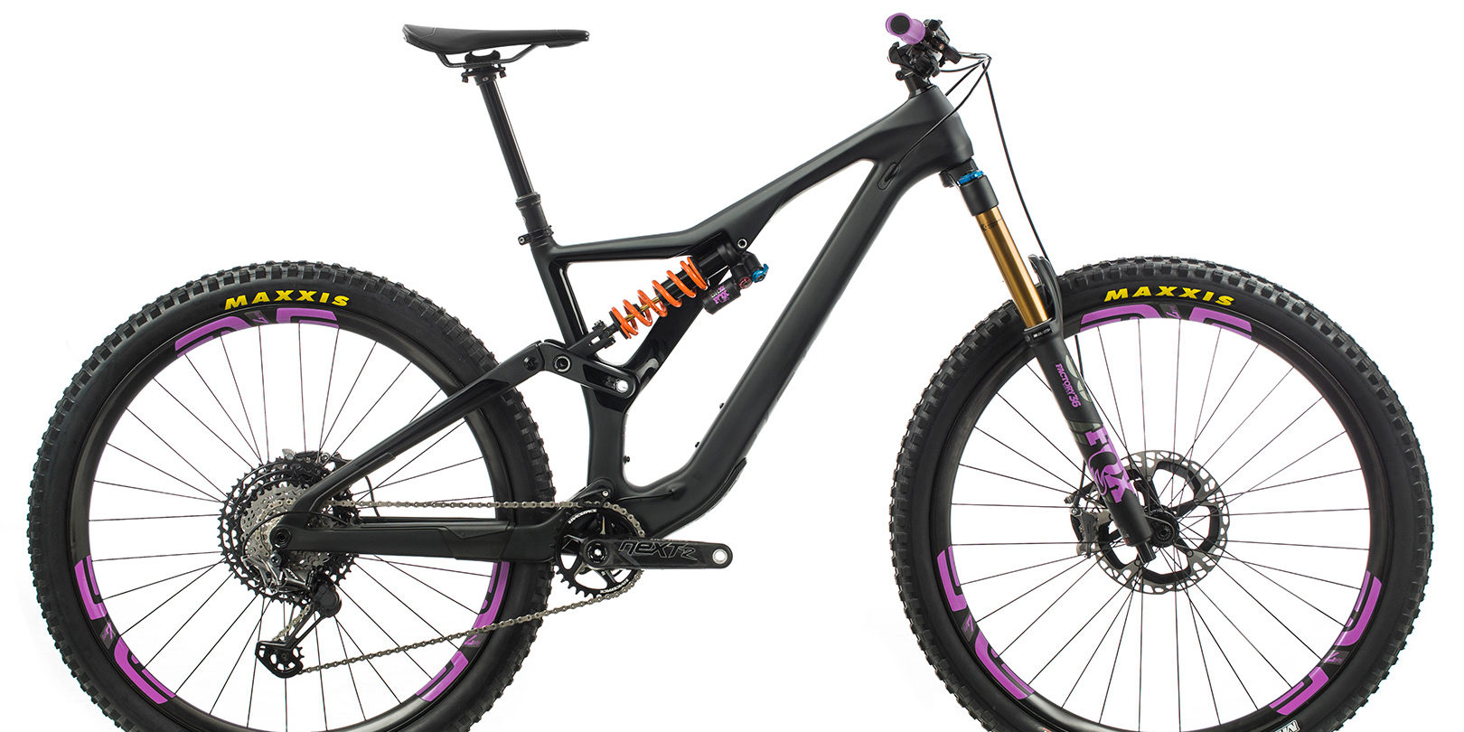 ORBEA RALLON M-LTD - ZWART (DOF) / ZWART PURPER (GLOSS) @G-Bikes