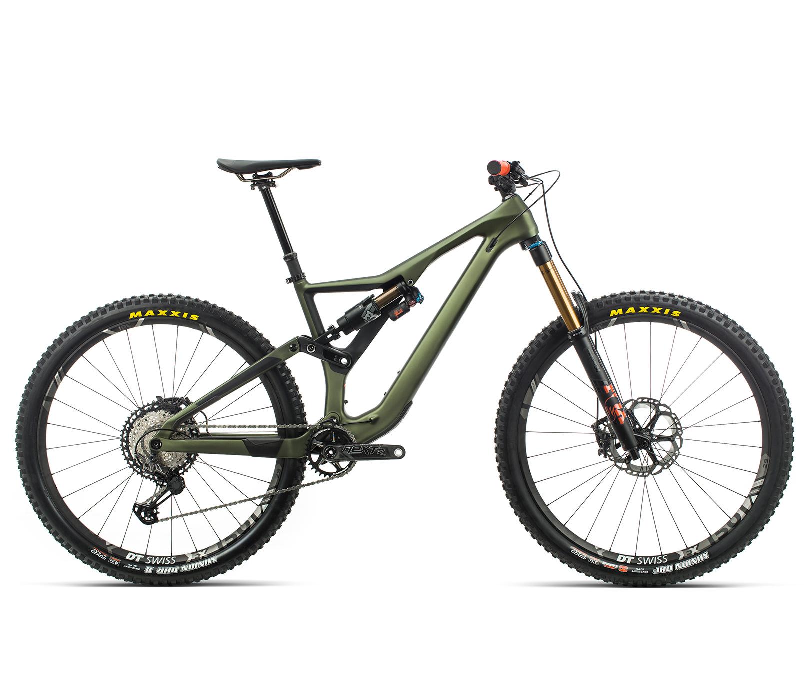 ORBEA RALLON M-TEAM - GROEN (DOF) / ORANJE (GLOSS) @G-Bikes