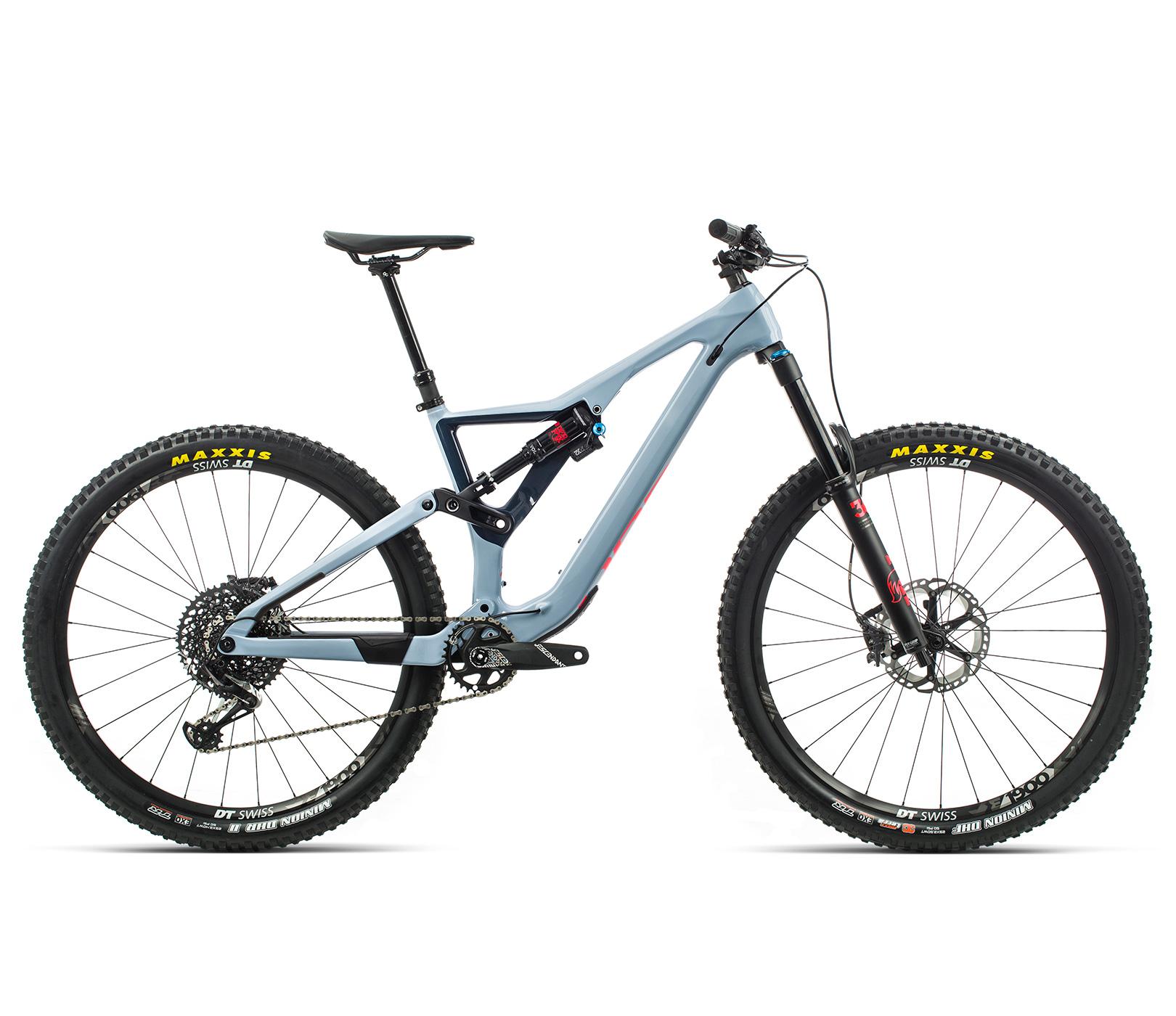 ORBEA RALLON M10 - BLAUW GRIJS / BRIGHT RED (GLOSS) @G-Bikes