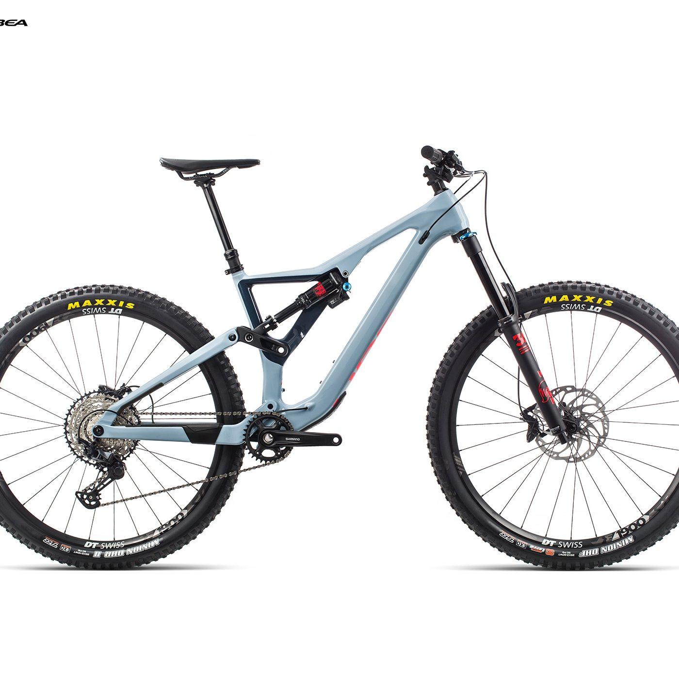 ORBEA RALLON M20 - BLAUW GRIJS / BRIGHT RED (GLOSS) @G-Bikes