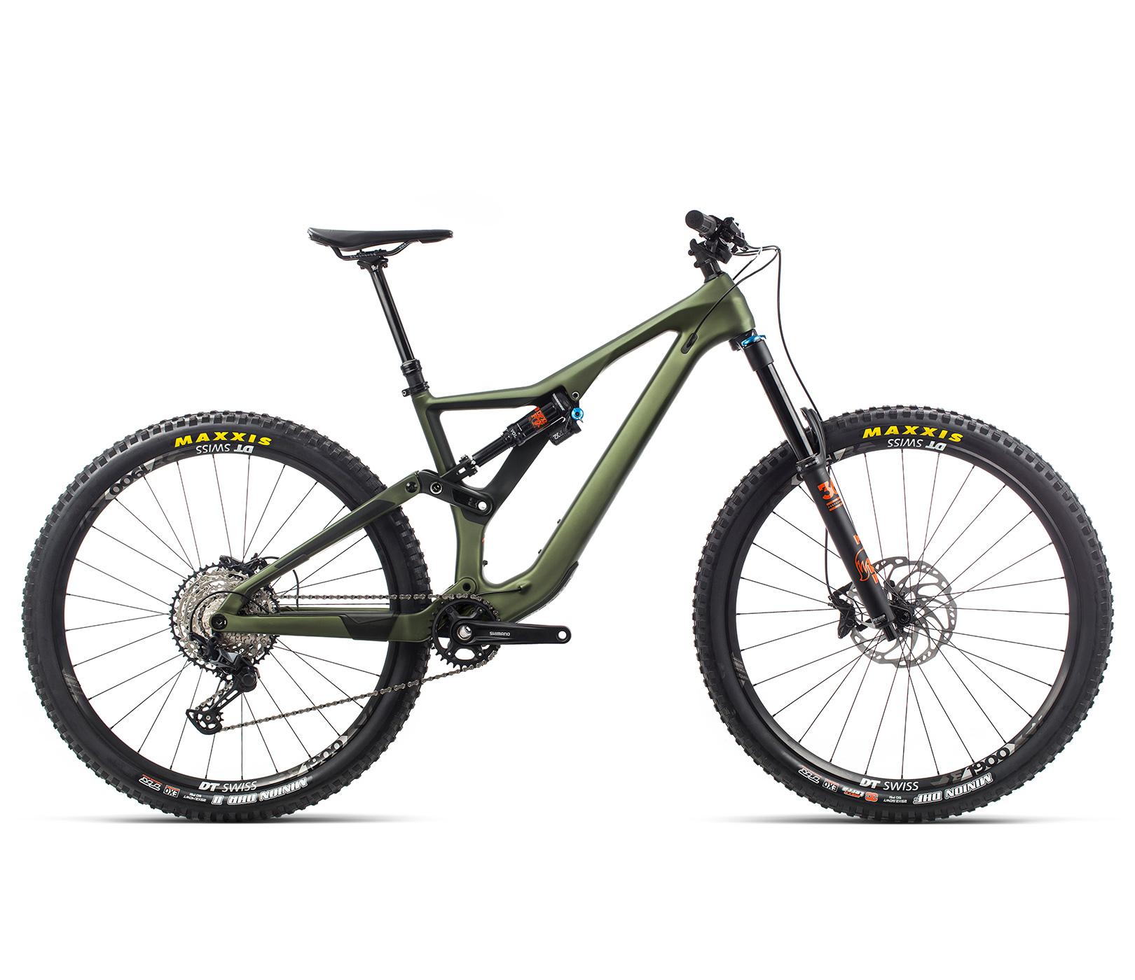 ORBEA RALLON M20 - GROEN (DOF) / ORANJE (GLOSS) @G-Bikes