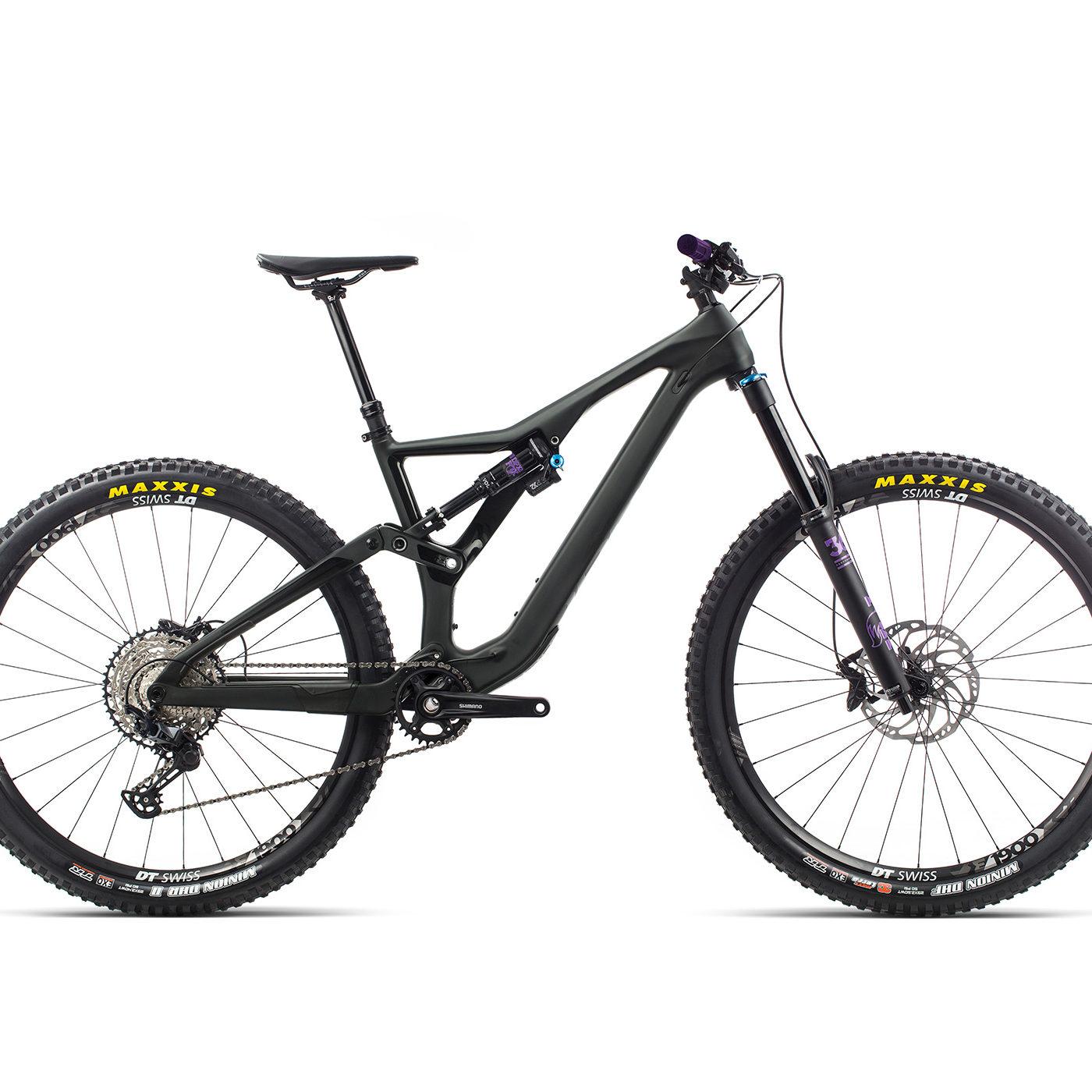 ORBEA RALLON M20 - ZWART (DOF) / ZWART PURPER (GLOSS) @G-Bikes