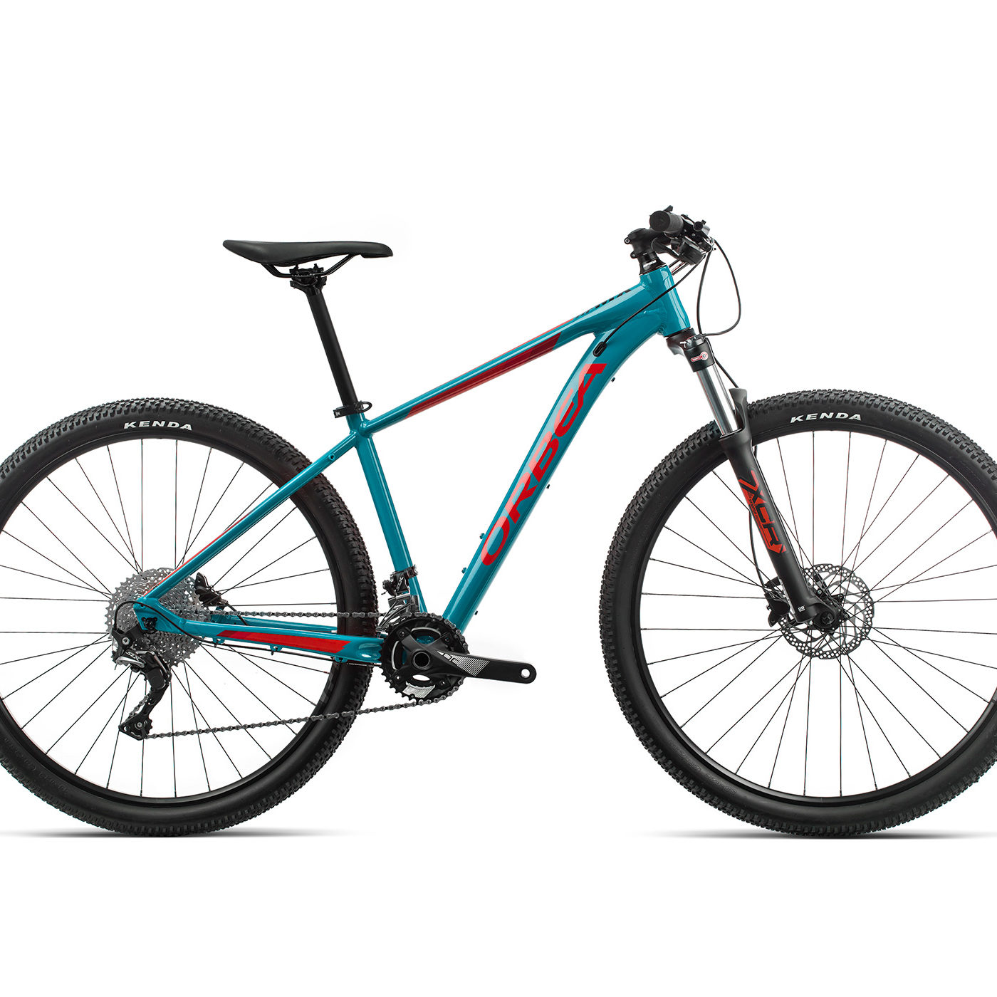 ORBEA MX 20 - BLAUW BONDI / BRIGHT RED (GLOSS)