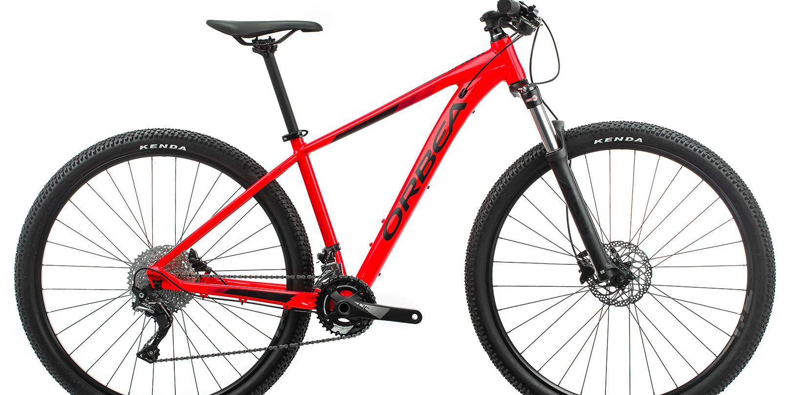 ORBEA MX 20 - BRIGHT RED (GLOSS) / ZWART (MAT)