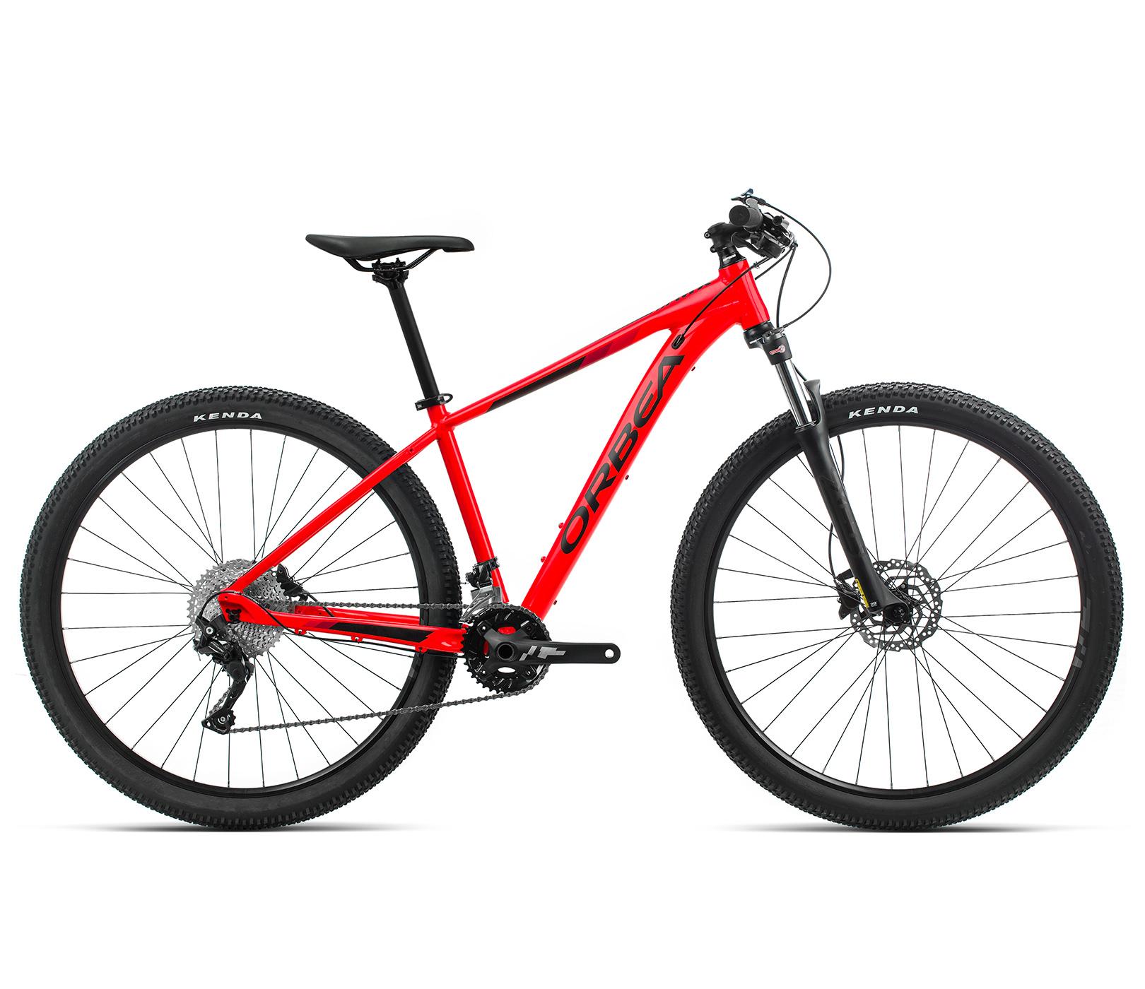 ORBEA MX 30 - BRIGHT RED (GLOSS) - ZWART (MAT)