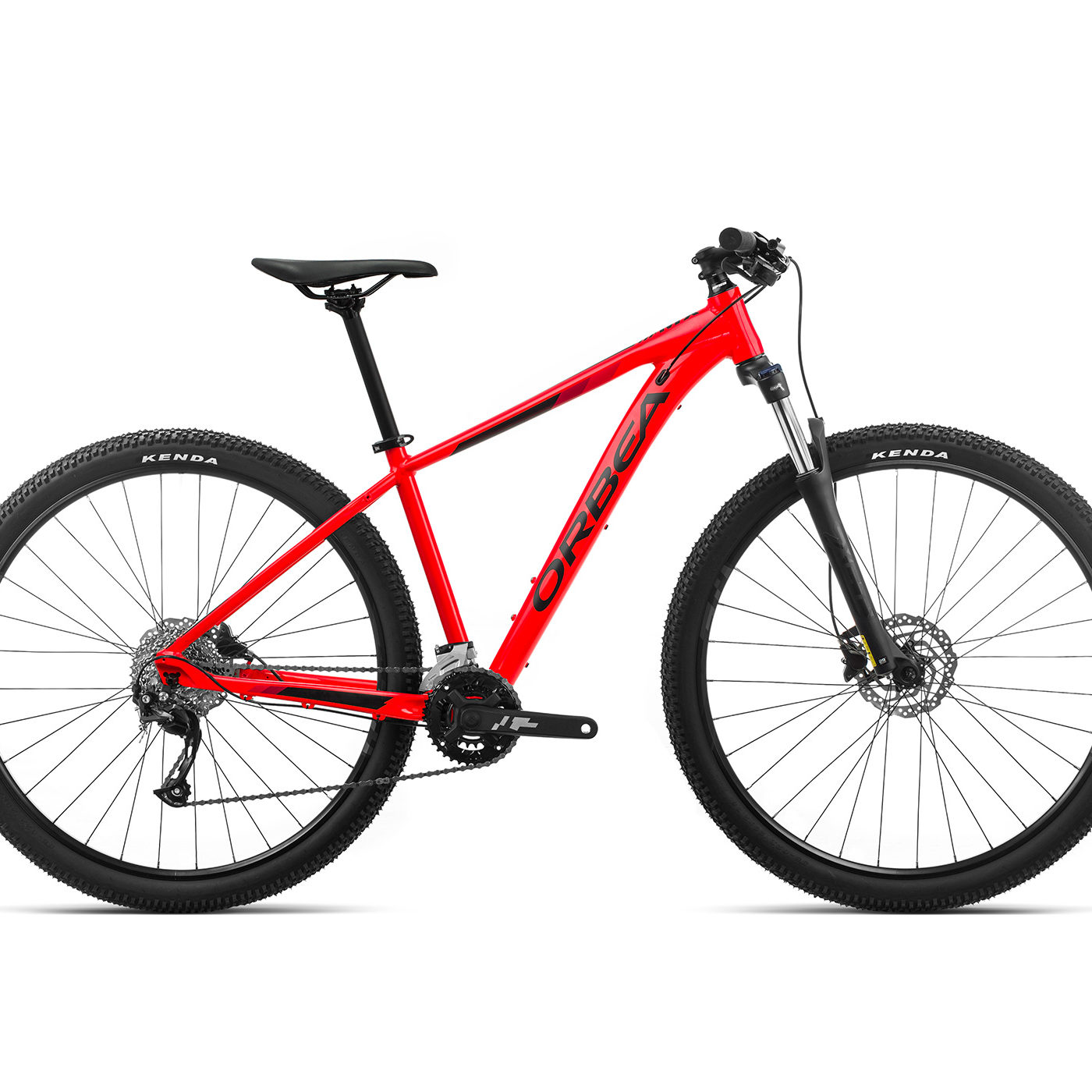 ORBEA MX 40 - BRIGHT RED (GLOSS) / ZWART (MAT)