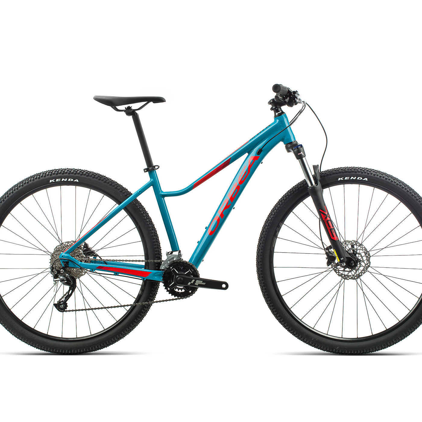 ORBEA MX ENT 40 - BLAUW BONDI / BRIGHT RED (GLOSS)
