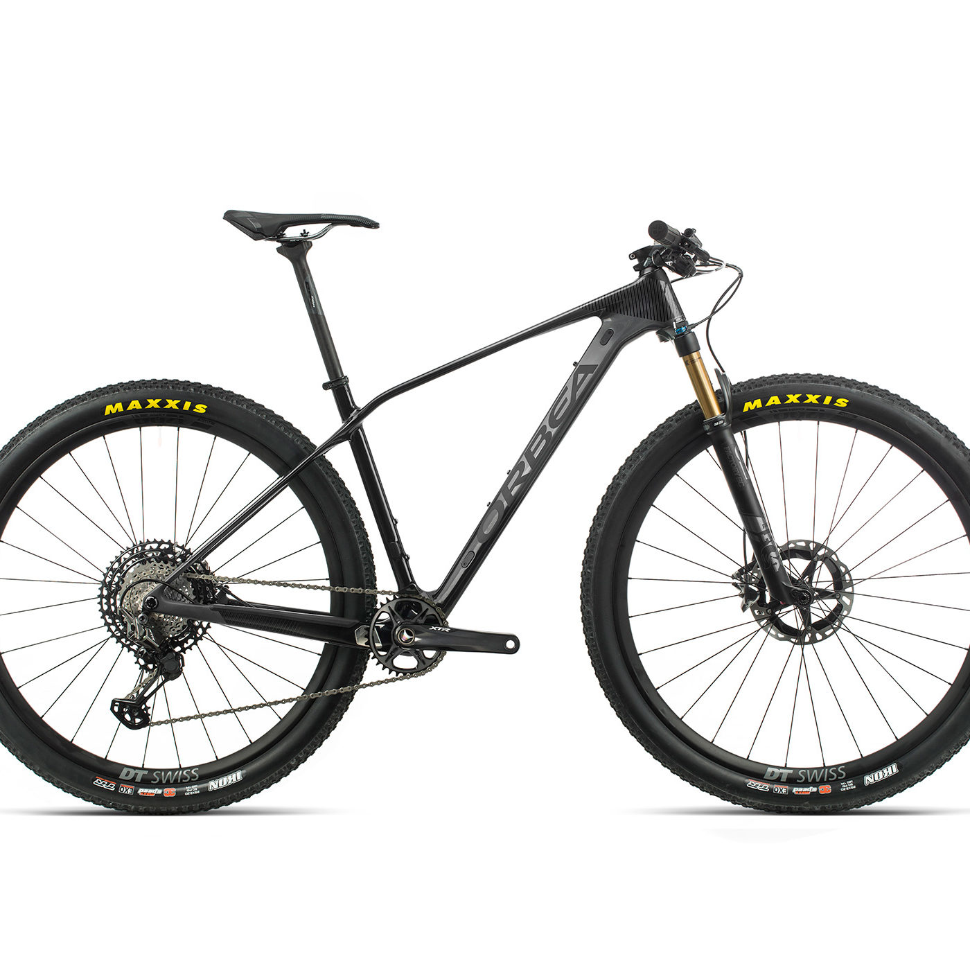 ORBEA ALMA 29 M-TEAM - ANTRACIET / ZWART (GLOSS)
